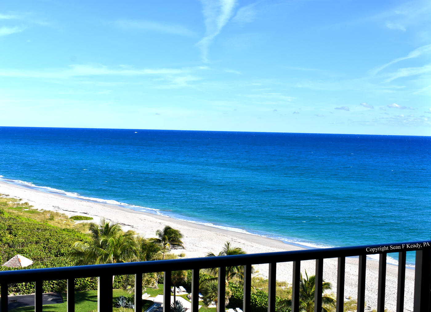 Wake up to spectacular Ocean views of Juno Beach from every room! Listen to the crashing waves from this updated split bedroom 9th floor condo. Sit on your private balcony and watch the waves rolling over the white sand. This building is located on the quietest section of beach in Palm Beach County and one mile from the Juno Beach pier. Live the waterfront lifestyle only minutes from Gardens Mall, great local shops, amazing restaurants, local parks and some of the best beaches in America. The building has a private community pool, private Oceanfront Beach Gazebo, extra storage, bike storage, community room w/ kitchen & on-site manager. All information provided is deemed reliable, but is not guaranteed and should be independently verified.