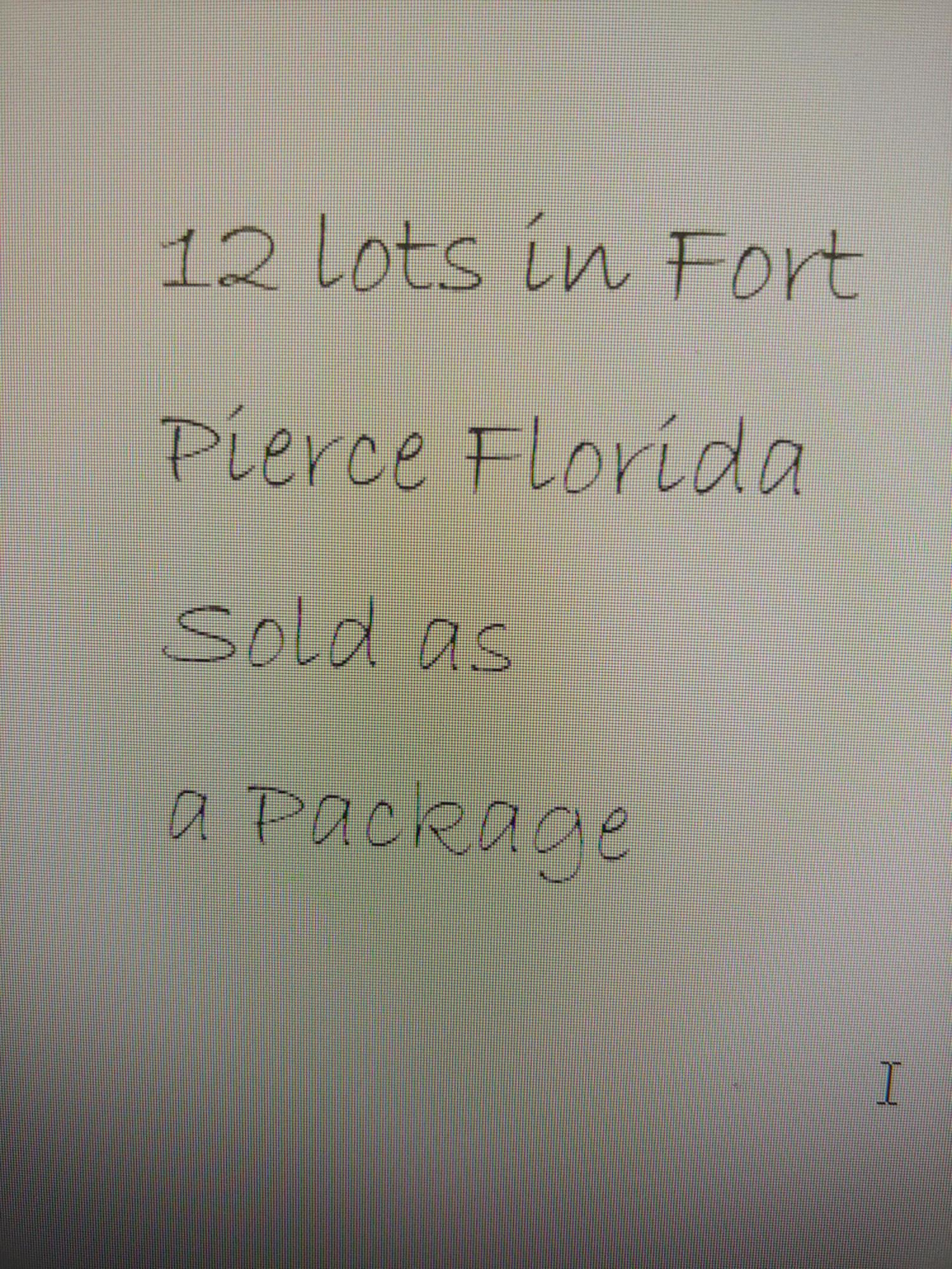 12 lot package