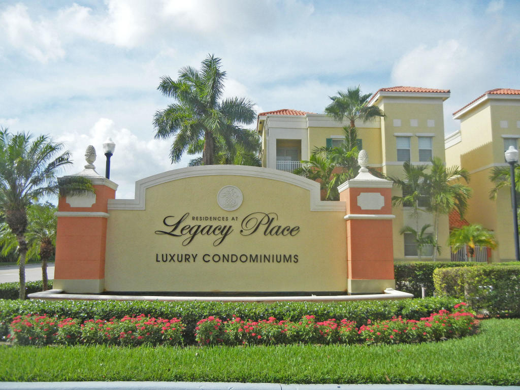 Residences At Legacy Place. Beautiful fully furnished 2 bedroom. All new granite counter tops, stainless appliances. All resort style amenities including pool, spa fitness center and tennis courts. Just a minutes walk to all shops at Legacy Place.