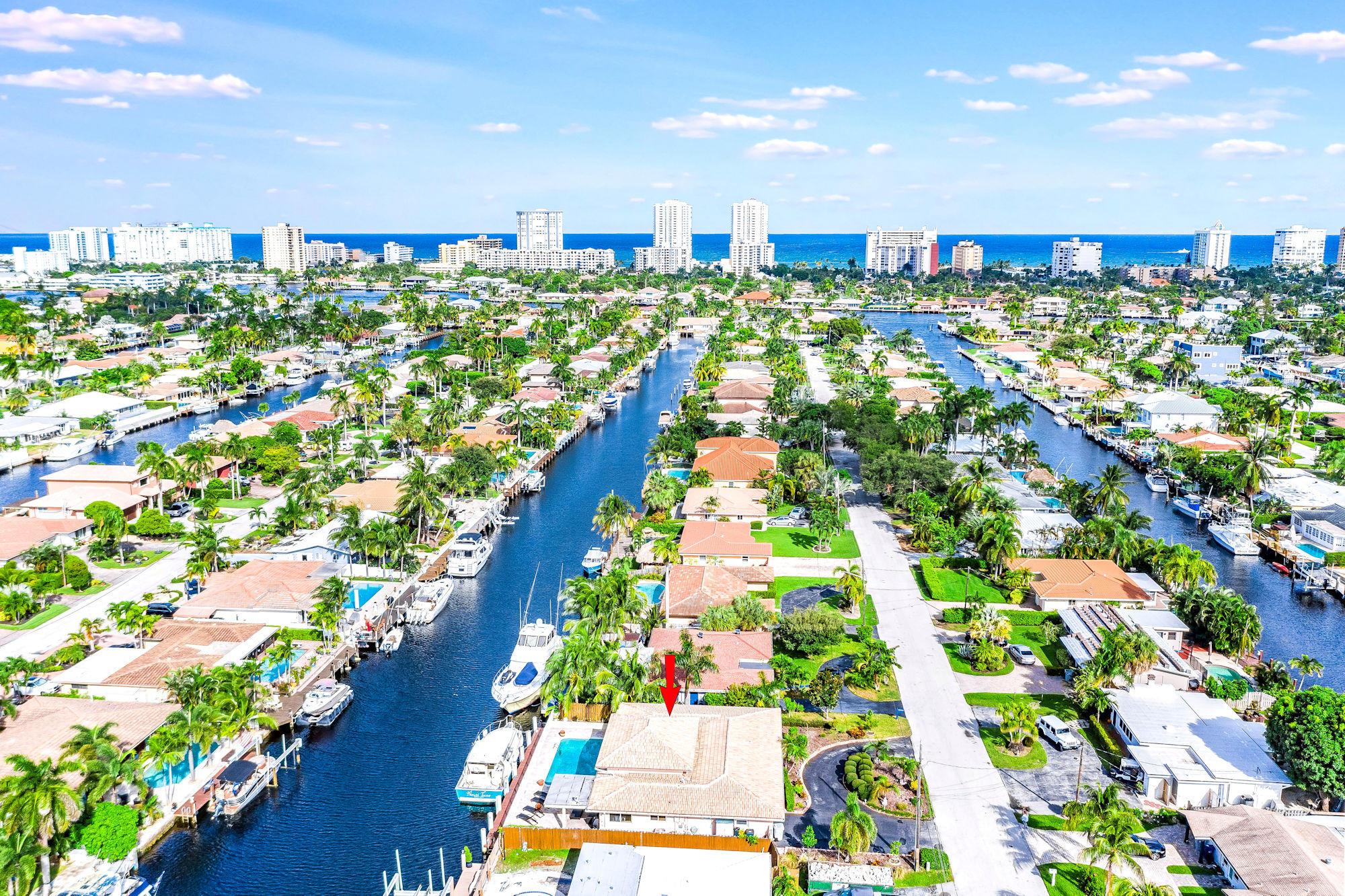 Home for sale in POMPANO ISLES SEC B Pompano Beach Florida