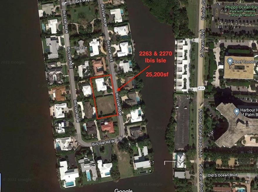 Great opportunity to build new on a double lot with potential for second story water views! (This listing is a combination of a vacant lot and the adjacent lot with house.)Close to the ocean and Palm Beach Tennis Center, as well as, Palm Beach Par 3 golf course, 5 star hotels, Worth Avenue, restaurants and cultural centers.