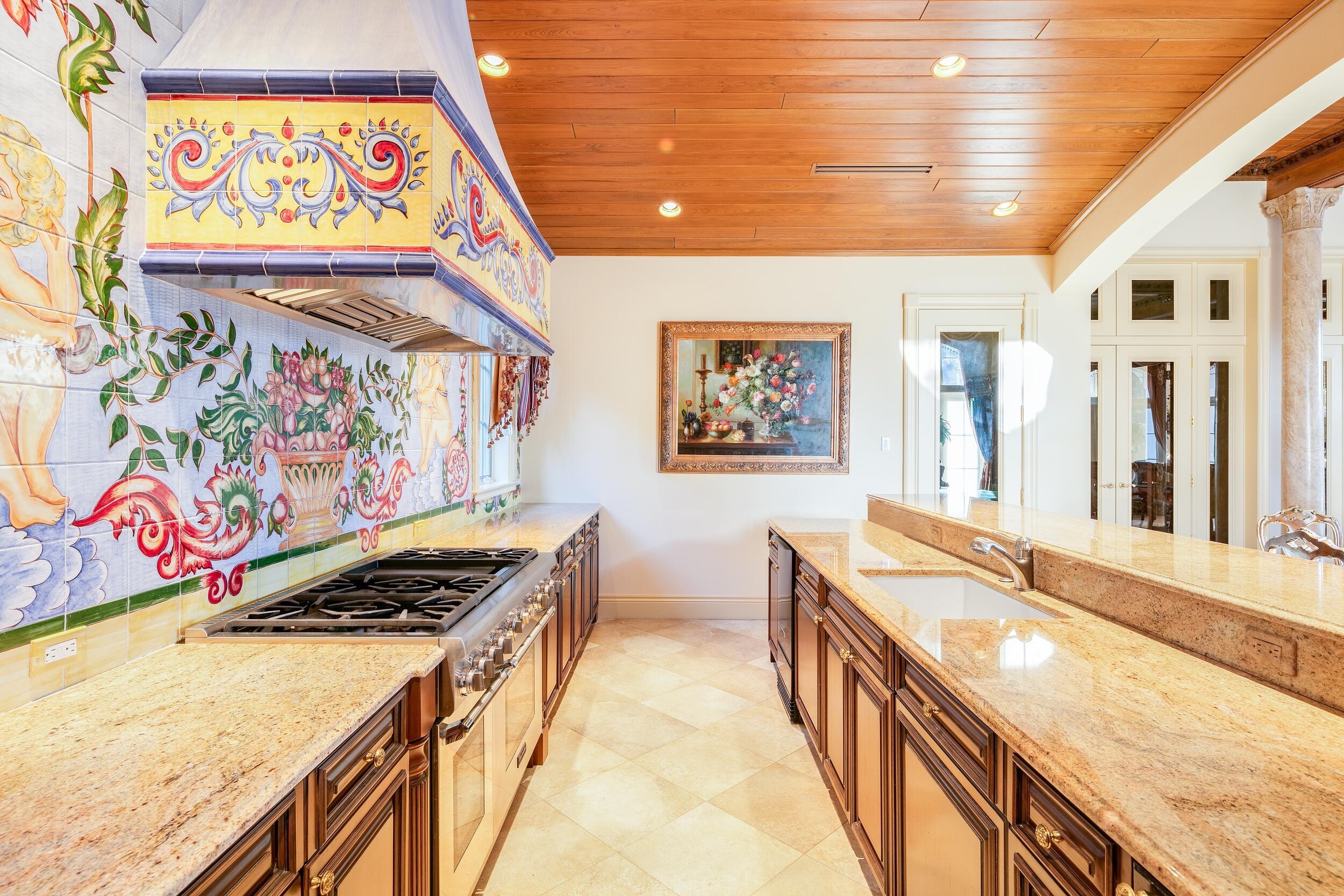 Indoor Summer Kitchen