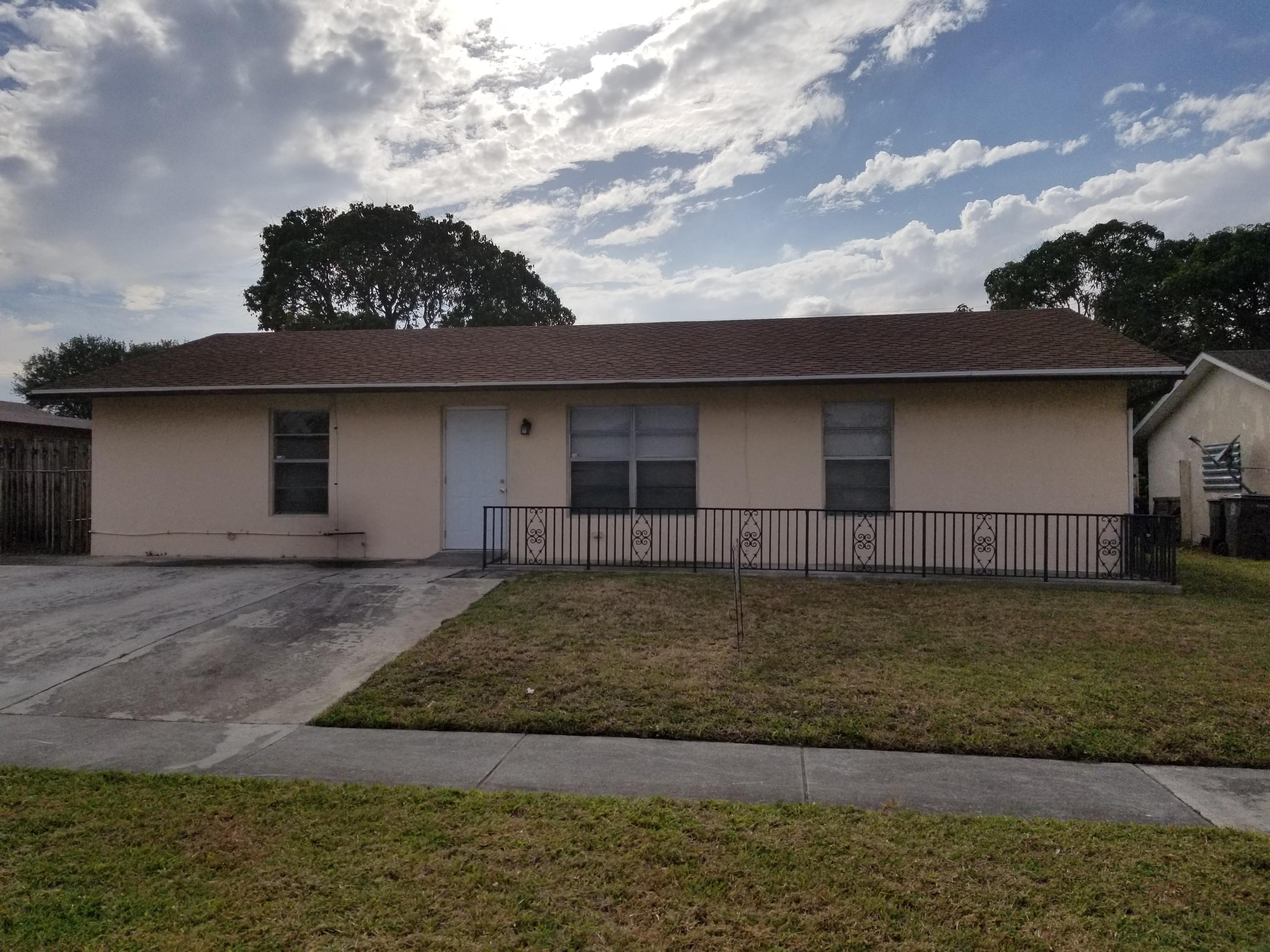 Home for sale in GRAMERCY PARK UNIT 5 West Palm Beach Florida