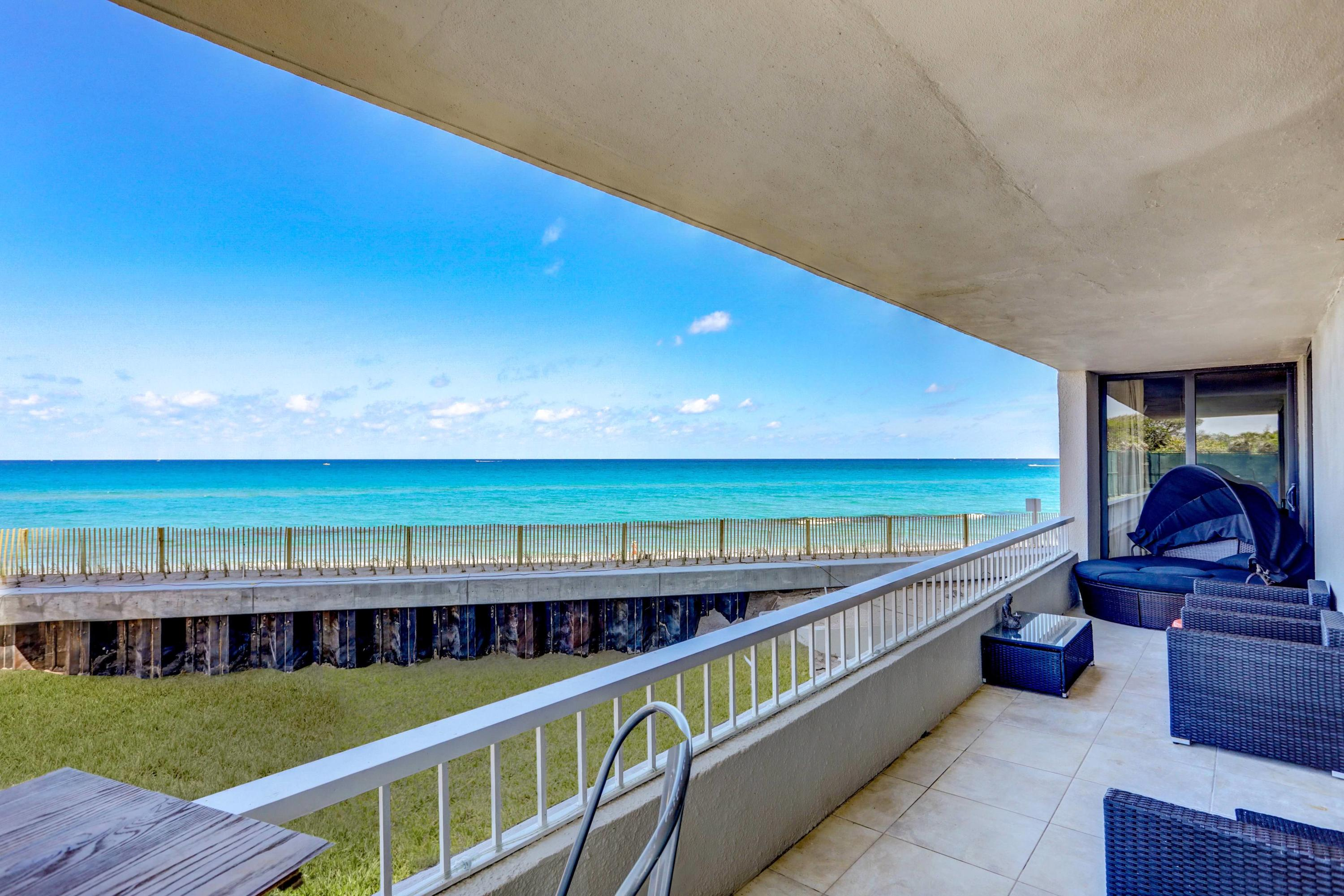 LOW FLOOR OCEANFRONT BEAUTY.DIRECT OCEAN VIEW FROM YOUR 57 FOOT WRAP AROUND BALCONYHIGH IMPACT WINDOWS FROM FLOOR TO CEILING IN EVERY ROOM, ONLY 4 UNITS PER FLOOR .2 BEDROOM 2 BATHROOMS , OPEN KITCHEN STAINLESS STEEL APPLIANCES ,TILE FLOORS.2 HEATED POOLS,4 TENNIS COURTS ,PUTTING GREEN,SHUFFLE BOARD,BBQ AREA,NEW CLUBHOUSE,24 HOUR SECURITY GUARD, AND MOST IMPORTANT 1200 FEET OF SANDY BEACH AT YOUR FOOTSTEPS.THIS UNIT IS PRICED RIGHT TO SELL.
