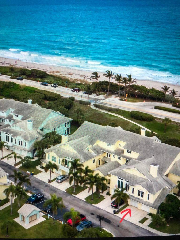 Rare opportunity to own this completely renovated in 2018, Carrerra model, Designer decorated, Fully furnished 2 story 3br/3ba Condo. Impact Glass throughout. Quartzite, Exotic Stone kitchen, Steps from the Beach. Turnkey, simply bring your bathing suit & Golf clubs. Enjoy Ocean Views from the 2nd Master suite upstairs. Sea Colony is a guard gated community, offering a newly renovated fitness center, community pool, tennis and much more.