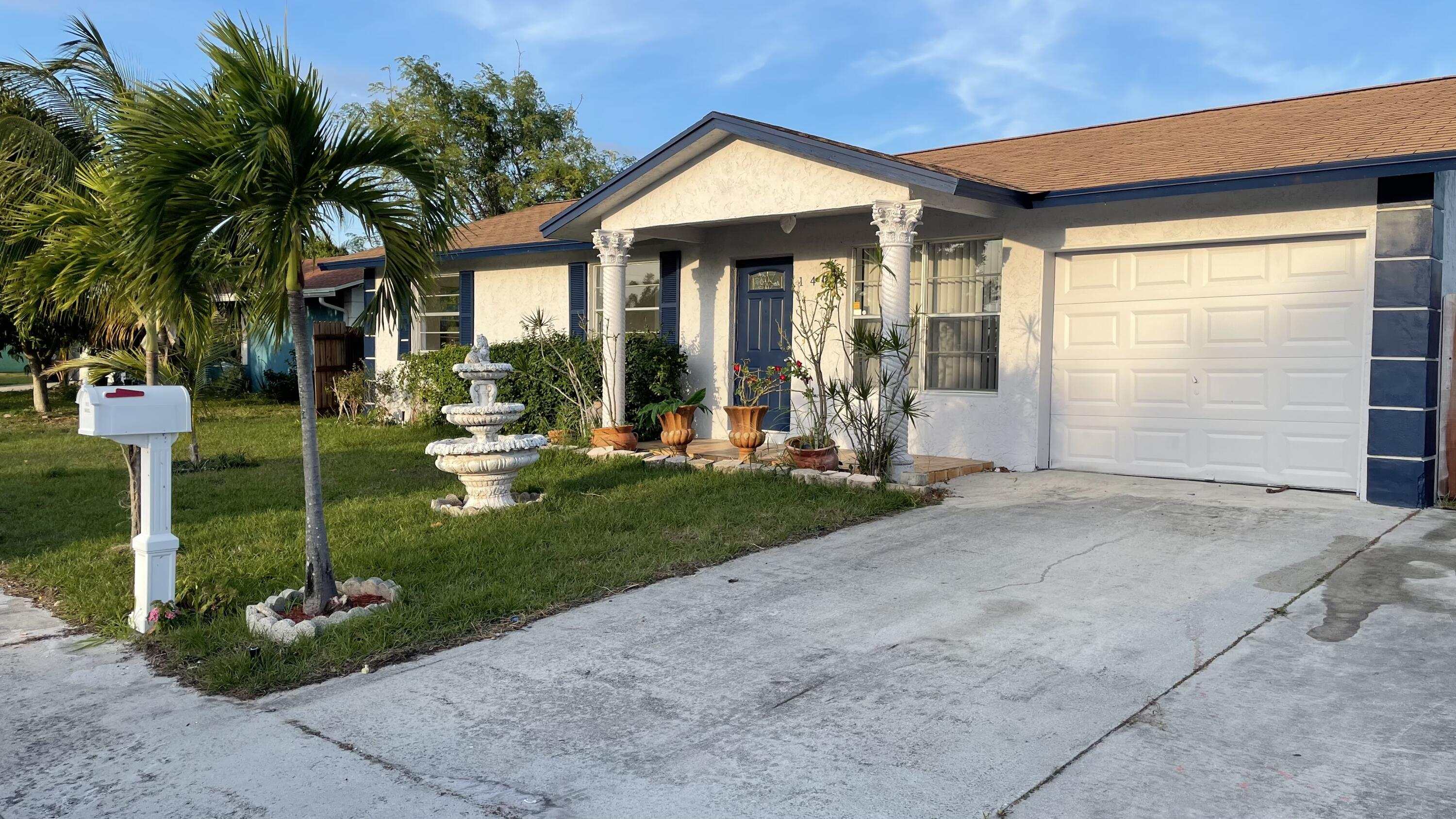 Home for sale in SCHROEDERS SUB IN Lake Worth Florida