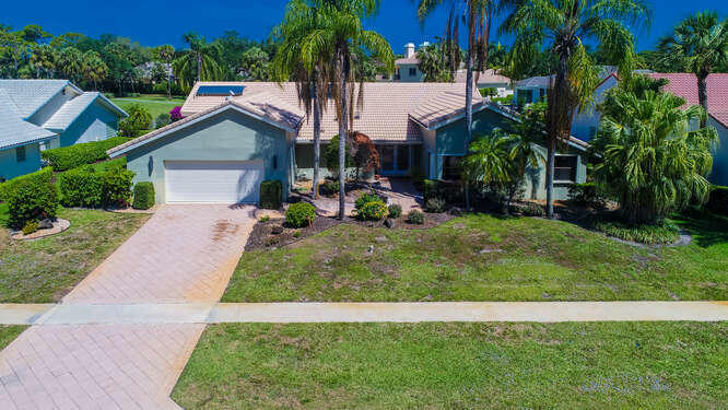 This home is located on a great golf course view lot in award winning Delaire Country Club!  Featuring  expansive living & dining rooms.  It includes an eat in kitchen that opens to a large family room, separate guest suite, a large master bedroom, & two large bedrooms connected with den and bath.  The large pool, patio and yard are perfect for entertaining.  This home is waiting for the right person to renovate or Build new. Come enjoy Delaire with its 27 hole golf course, active club house, fitness center, 8 Har Tru tennis courts & pool.Membership includes a family policy where parents, children & grandchildren have use of the club.