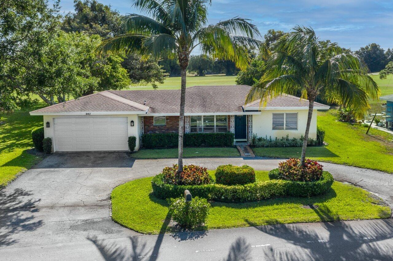 Home for sale in GOLFVIEW ESTATES DELRAY Delray Beach Florida