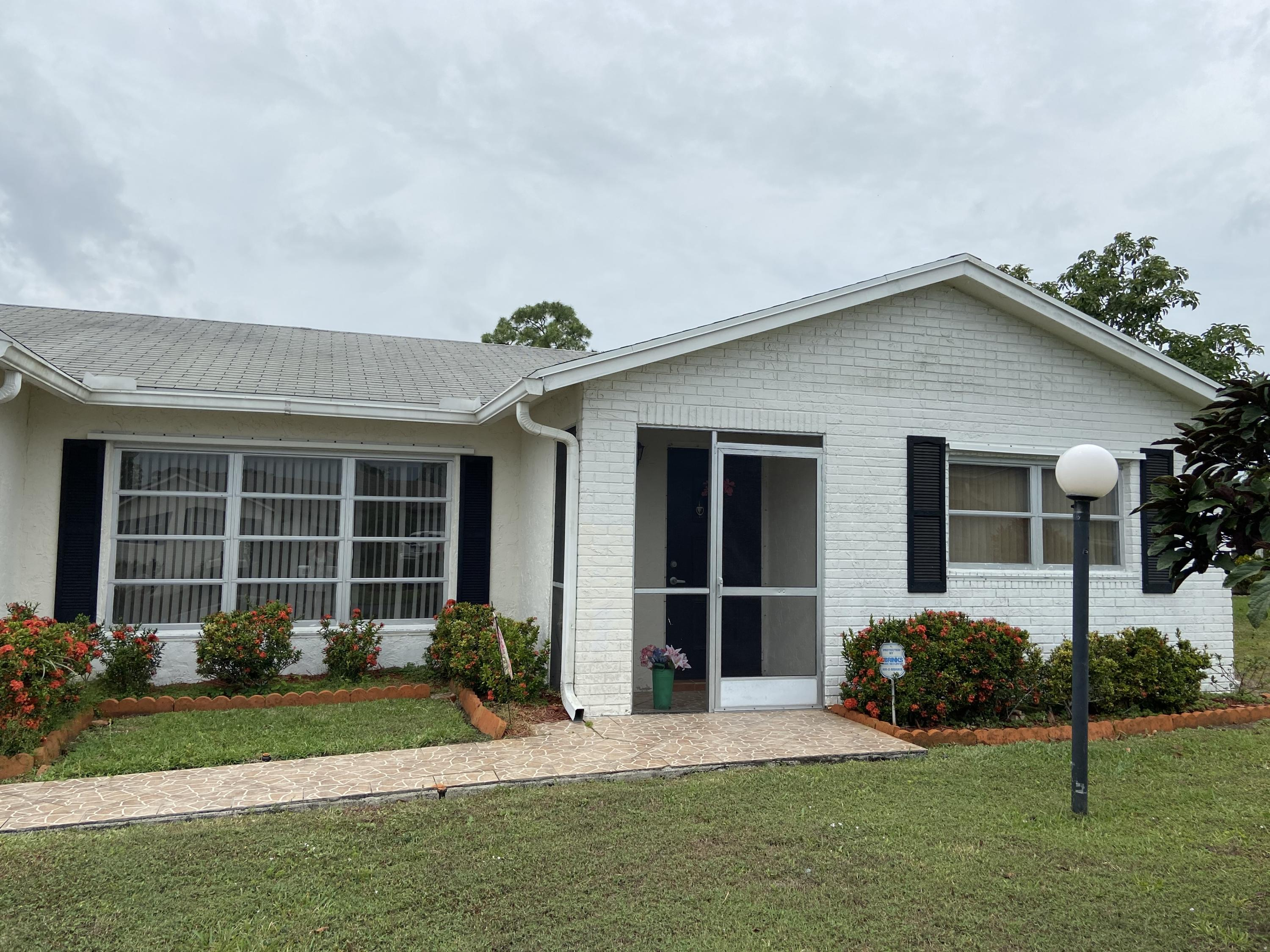 Home for sale in LUCERNE LAKES HOMES VILLAGE I 6TH ADD Lake Worth Florida