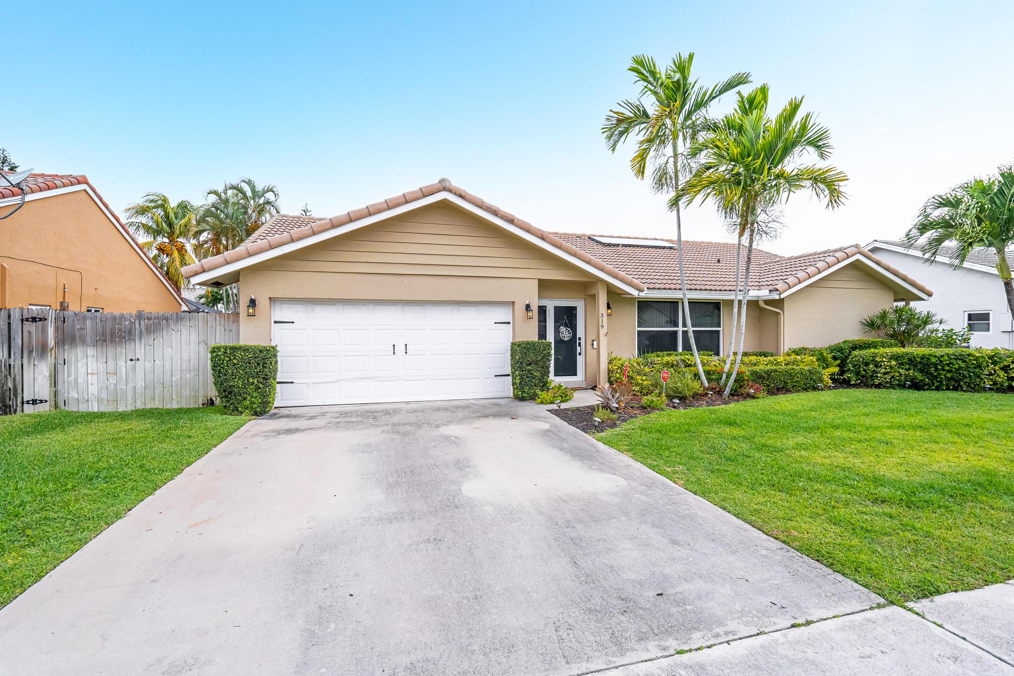 Home for sale in Hidden Valley Sec 3 Boca Raton Florida