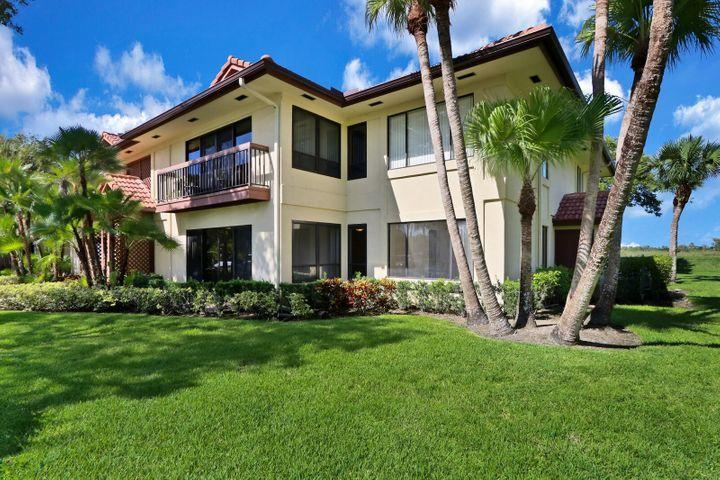 Beautiful 2/2 condo on the 1st floor all renovated shows well. Building backs up to nature preserve so no neighbors behind and very quiet and serene. Owner to install Rolladen accordion shutters  for hurricane protection.  Membership available to PGA National Resort Spa amenities, but there is a pool in the community.  Tenant occupied till May 6 2021. 24 hour lead time necessary for all showings till tenant vacates.,