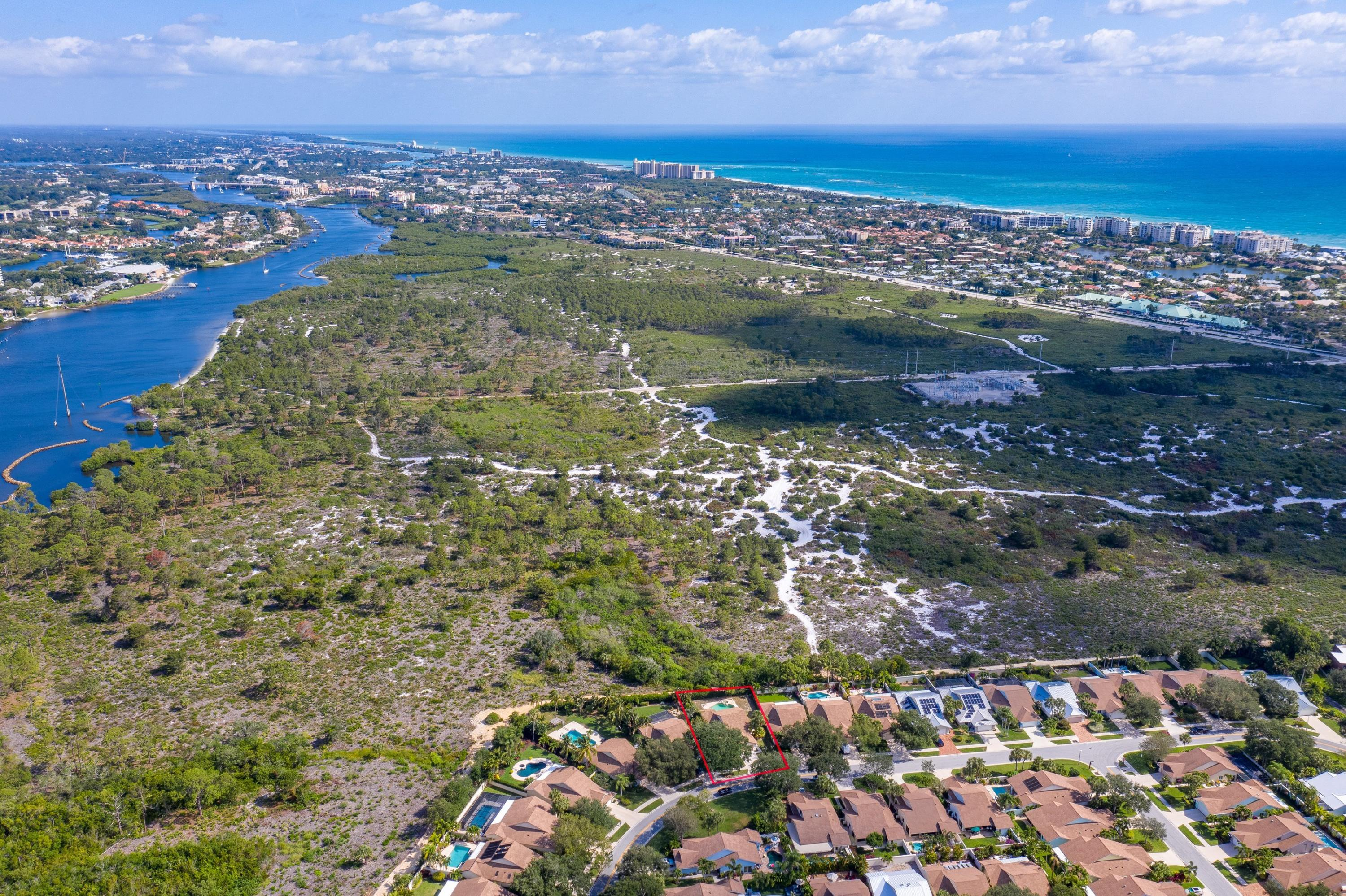 Welcome to Paradise!  Feel the ocean breeze from one of the best and most desirable locations in Jupiter!  This rare preserve lot offers peace and quiet in your backyard with complete privacy and no neighbors ever!  Priced 2 Sell FAST so bring your buyers and/or investors.  Upgrades: Roof (2016), AC (2018), Garage Door (2017), Pool Pump (2019). The home is in original condition and is ripe to be remodeled to your specific tastes and desires. The same home with upgrades just sold for over $850,000!! Beach Town Vibe with Seaside Living, this house has everything right at your fingertips - elite beach, crystal clear water, fine restaurants, top local shops/stores, Public grocery store, boating, marina, lots of Golf, fishing, recreational activities and much more!