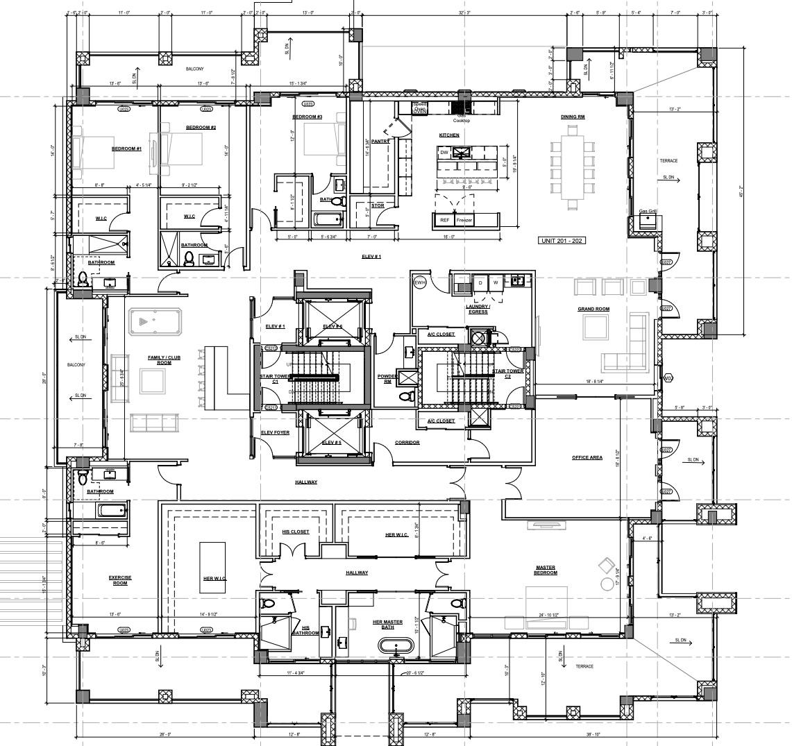 201-202 Floor plan