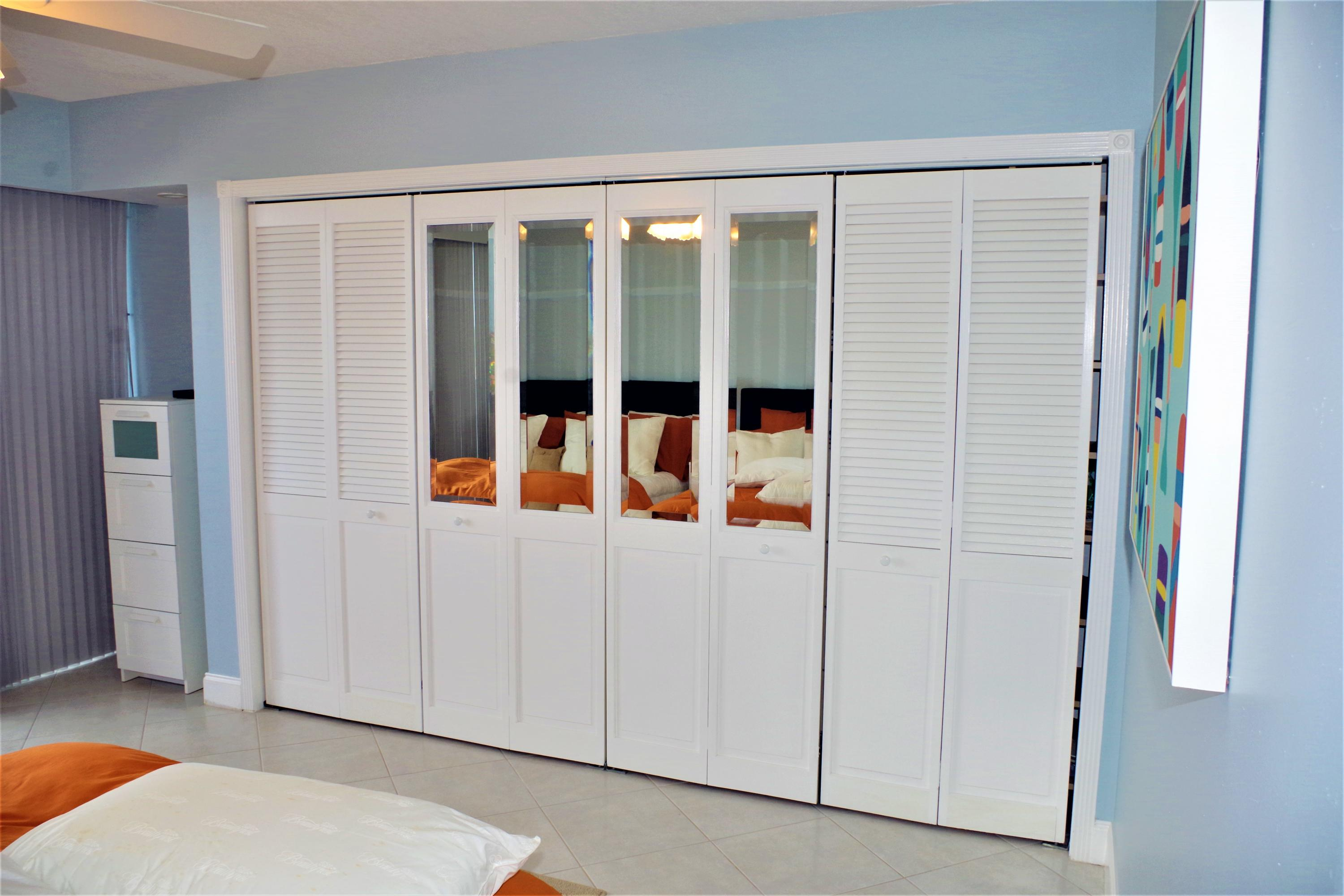 Second Bedroom Wall to Wall Closet
