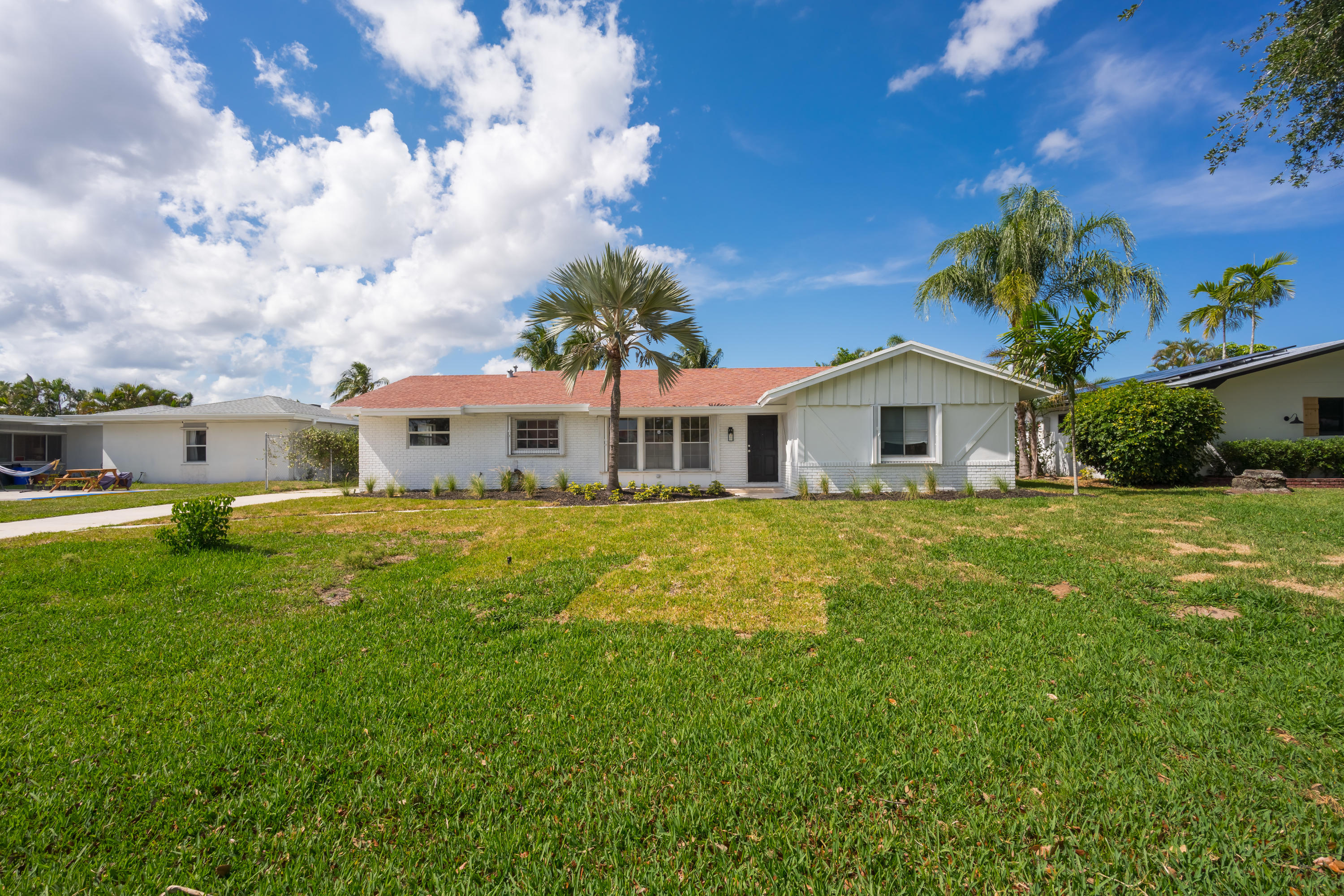 Come quick. Fully remodeled 3 bedroom pool home with garage. Large open floor plan in a nice, quiet neighborhood. Brand new flooring, master bathroom, freshly painted, new A/C, electrical, plumbing and pool equipment. Plenty of room for a small boat or large truck. This won't last long.