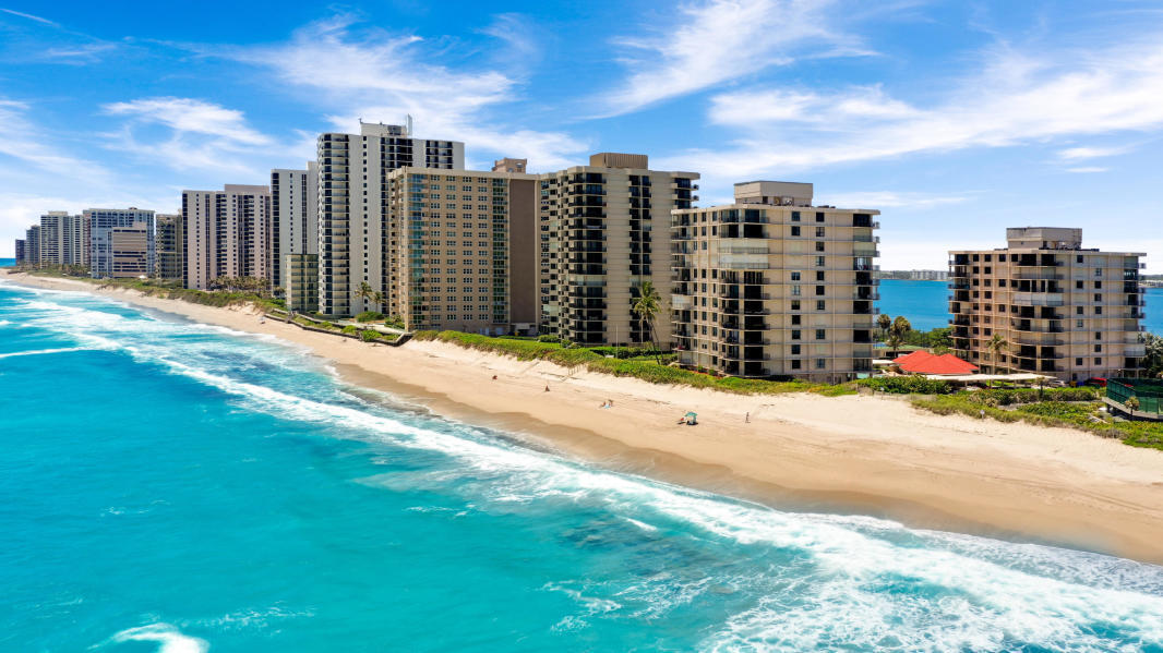 Home for sale in DUNES TOWERS CONDO Singer Island Florida