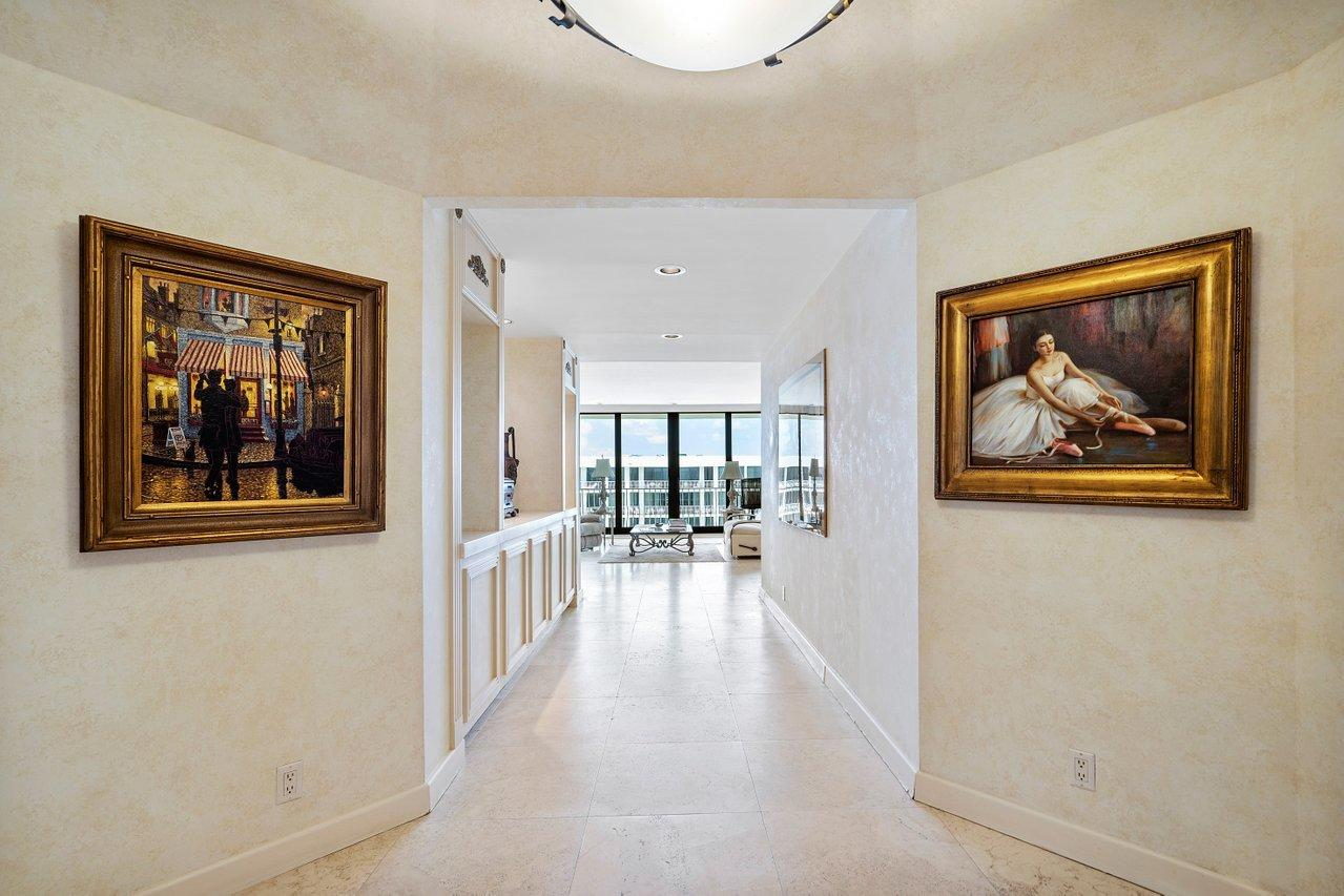 Incredible opportunity to purchase the only 2 Bedroom - 2.5 Bath Penthouse currently on the market. Enjoy  Ocean - Pool & Intracoastal Views from every room as well as your private 34' balcony. This unit features 9' ceiling and has Hurricane Impact Doors throughout. Amenities include 24/7/ Gated Entry & Doormen, 2 Garage Spaces - Tennis Complex & Pro Shop - Fitness Center - Newly Renovated Pool Area with BBQ - Gorgeous Beach Area and 15 Minutes to PBIA & World Class Shopping on Worth Avenue and the Royals & Area Restaurants. This is a golden opportunity to own and create your Palm Beach Dream Home in Palm Beaches Most Sought After Luxury Oceanfront Building.