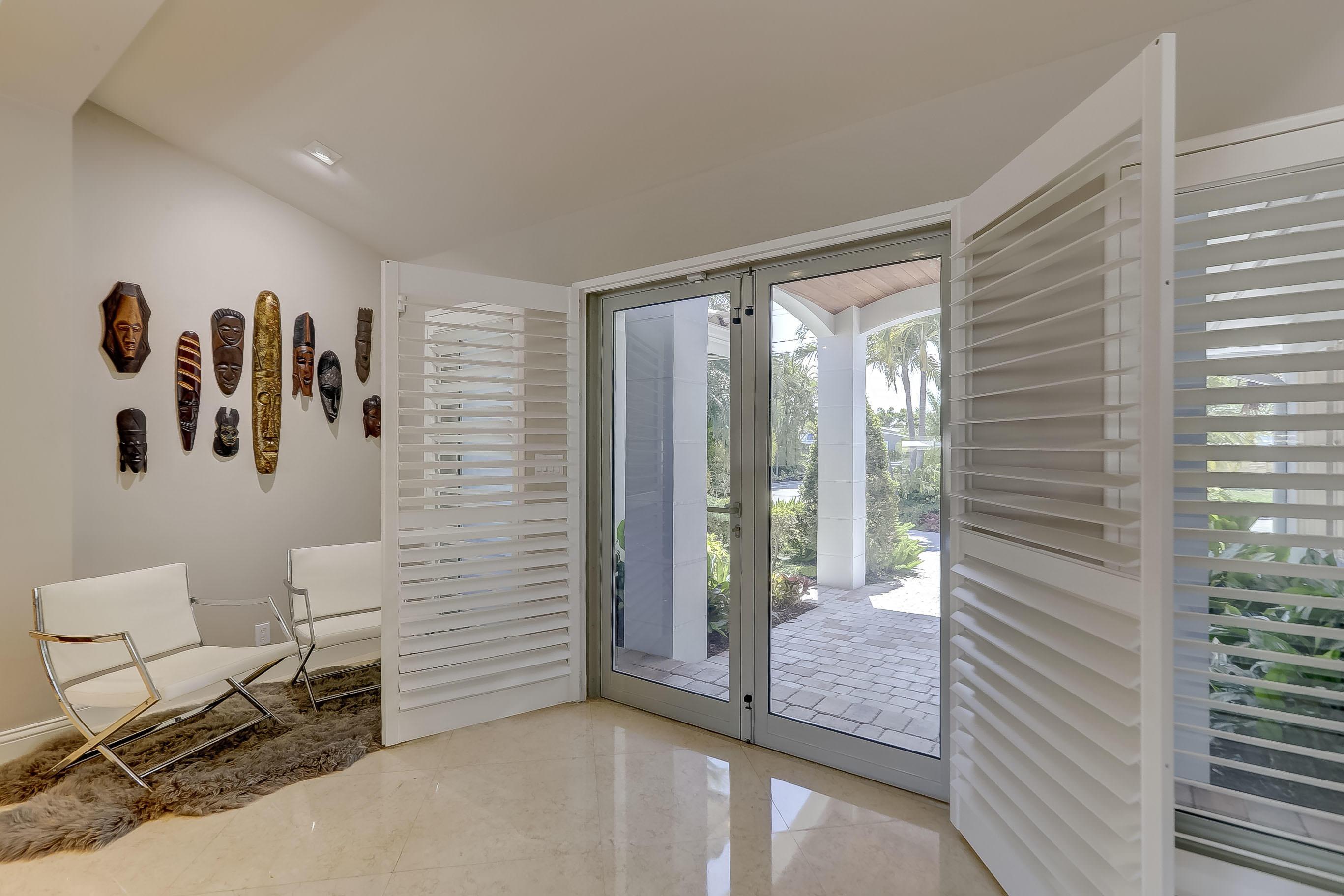 Floor to Ceiling Double Doors