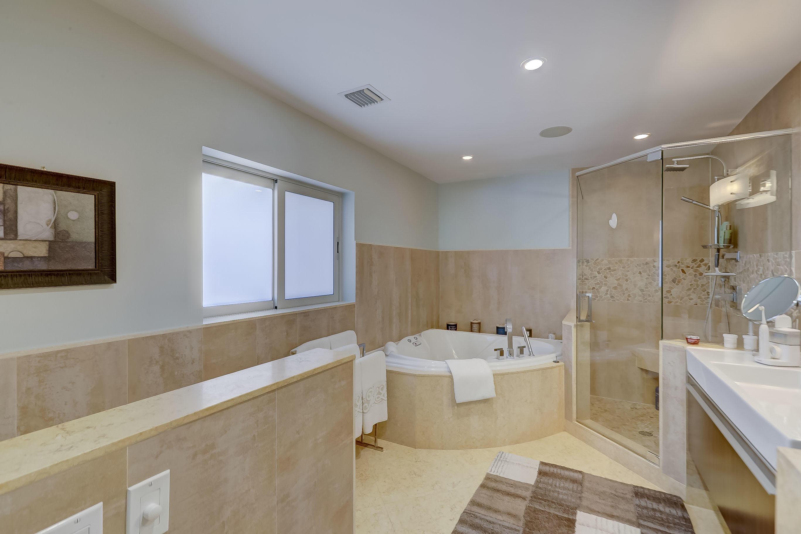 Large Spa Master Bathroom
