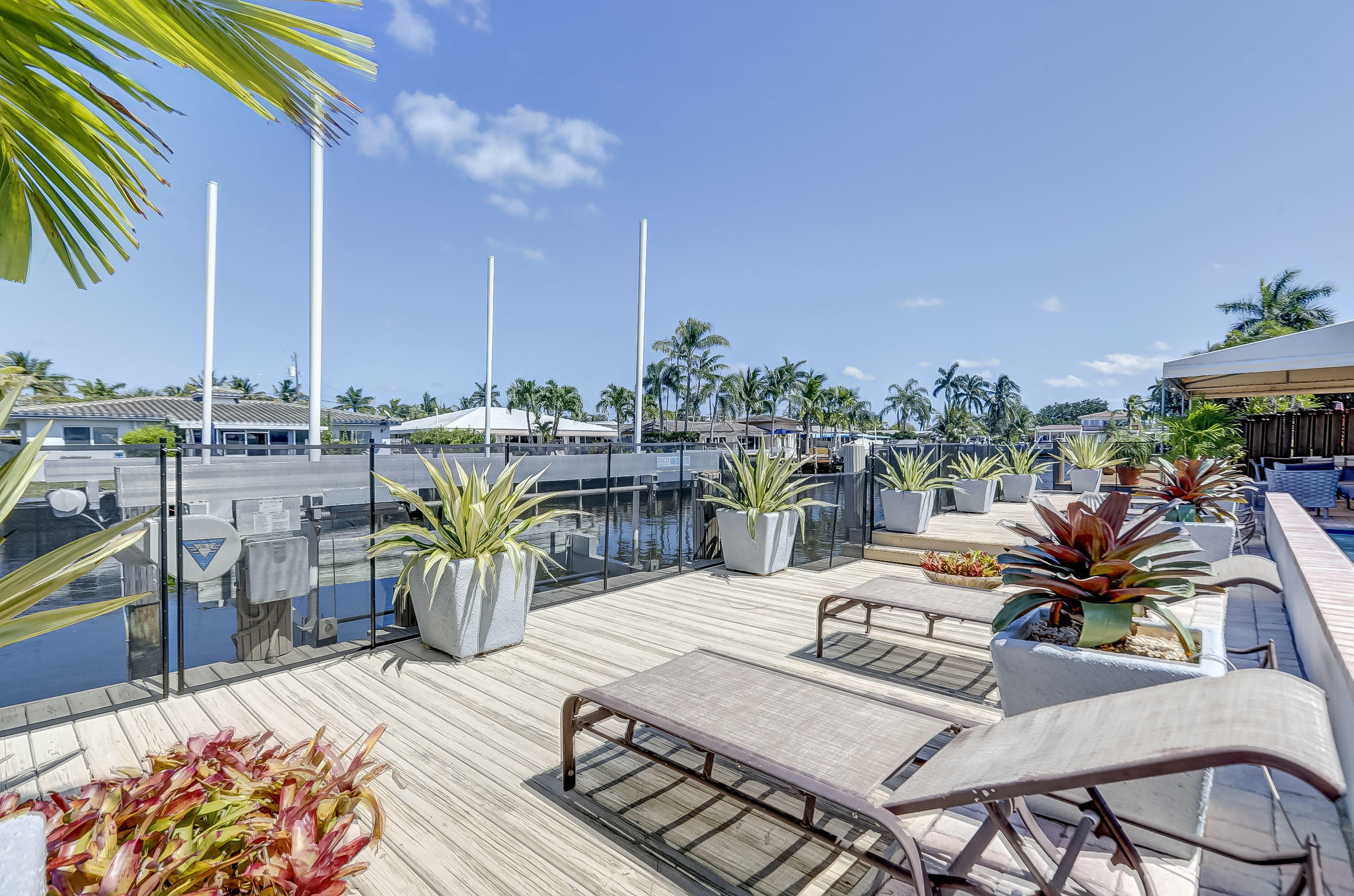 Plenty of Deck to Relax in Paradise