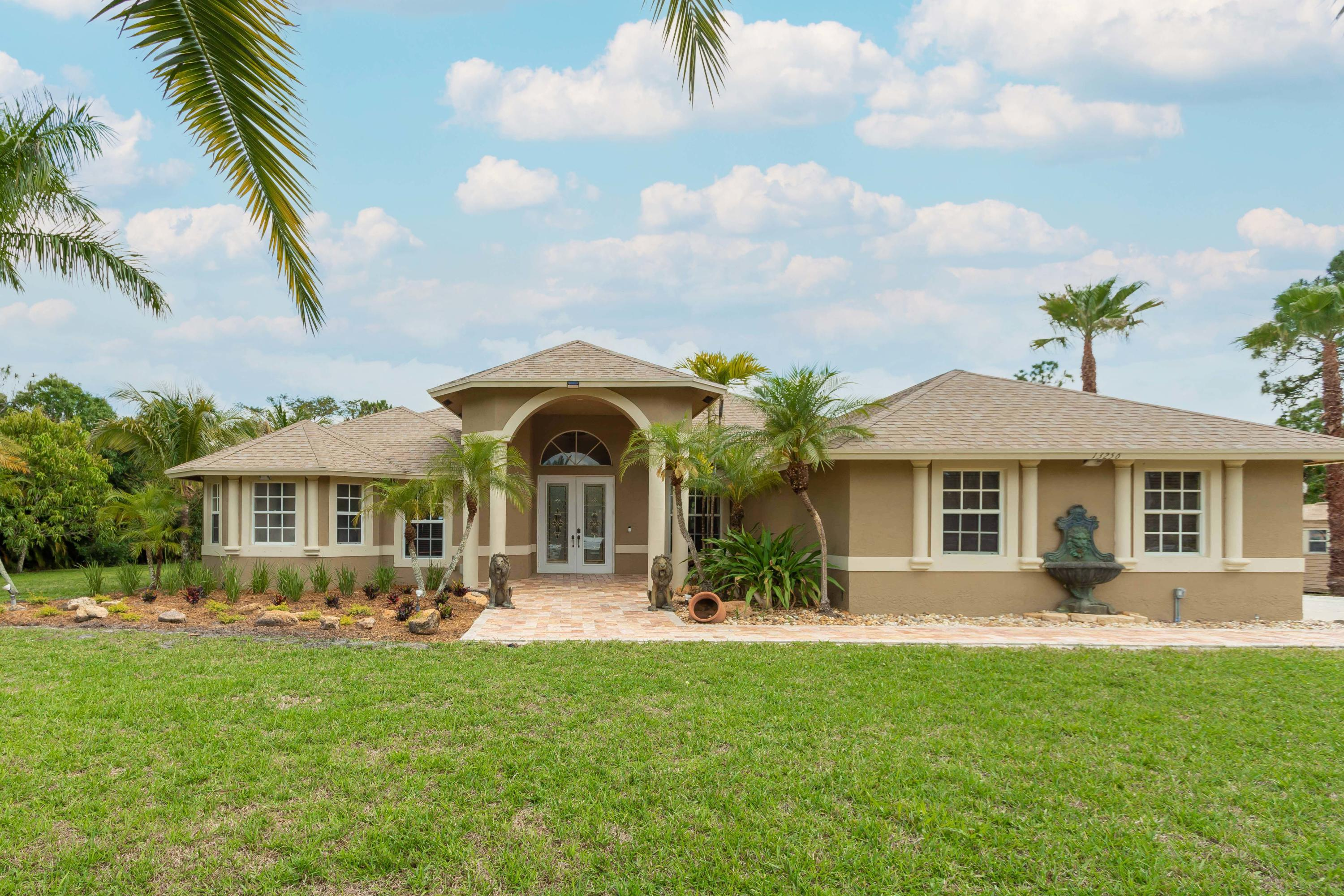 Home for sale in Acreage & Unrec West Palm Beach Florida