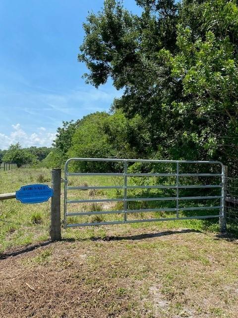 NE 133rd Ln Okeechobee Gate entry