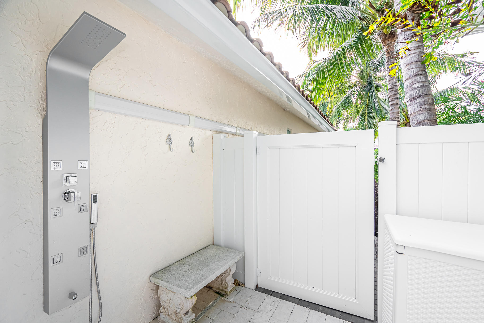 New Outdoor Pool Shower