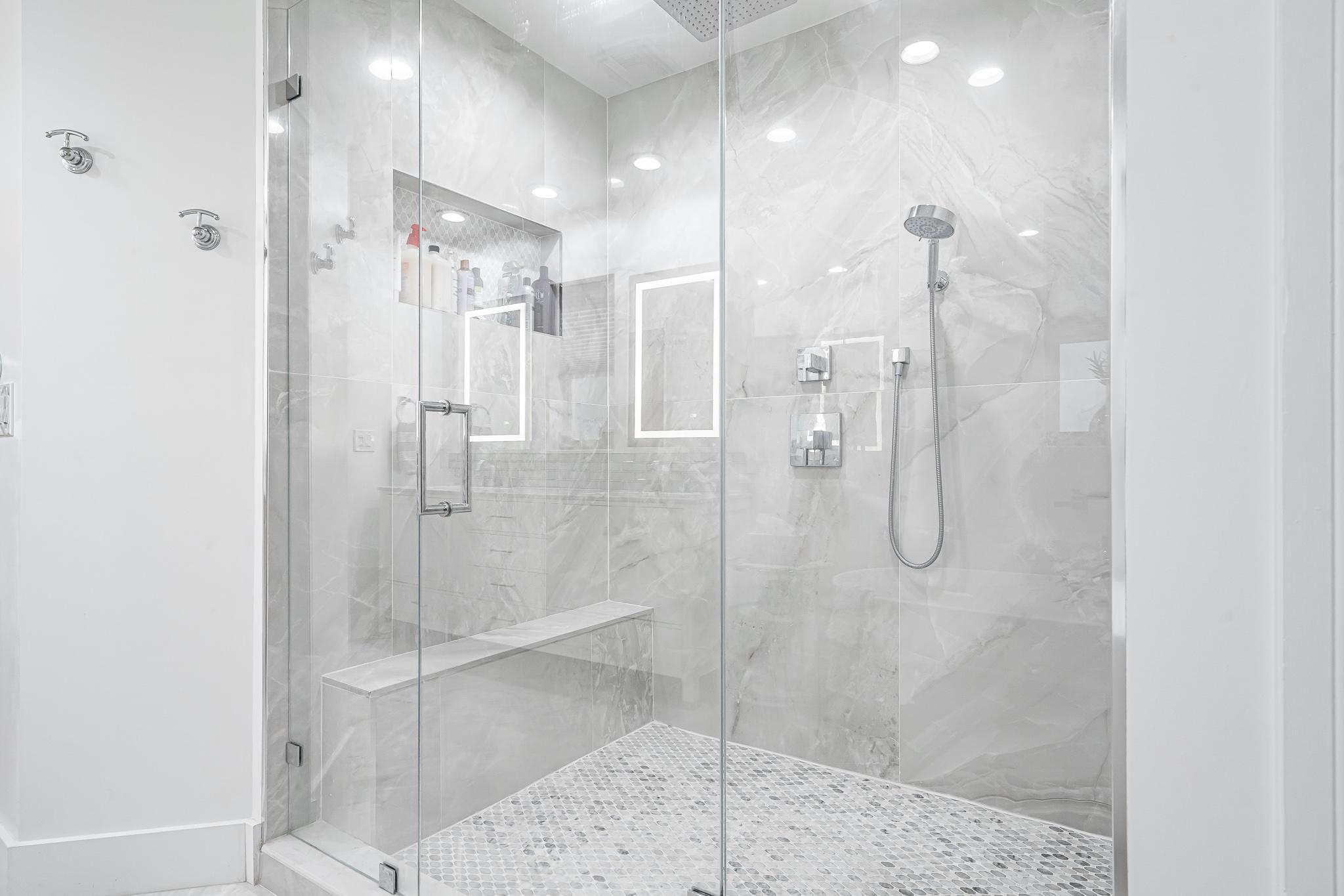 Oversized Shower