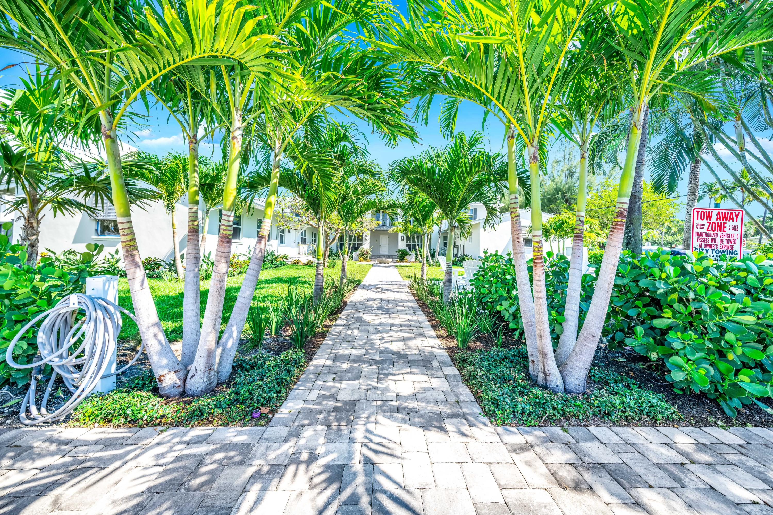 Vacation full time in this perfect beach side getaway. Lives like a single family home, with private patio for bbq, great outdoor space to enjoy. Building has undergone a million dollar plus renovation, everything is new! Impact windows & doors, new AC and ducts, new electric room, meters & wiring, new plumbing under the building. Beautiful landscaping and patios. Unit is fully renovated with a cottage beach feel. New floors, appliances, bathrooms ready to move in. Just one block to Delray's beautiful beach, walk or bike to Atlantic Ave's restaurants and shops.