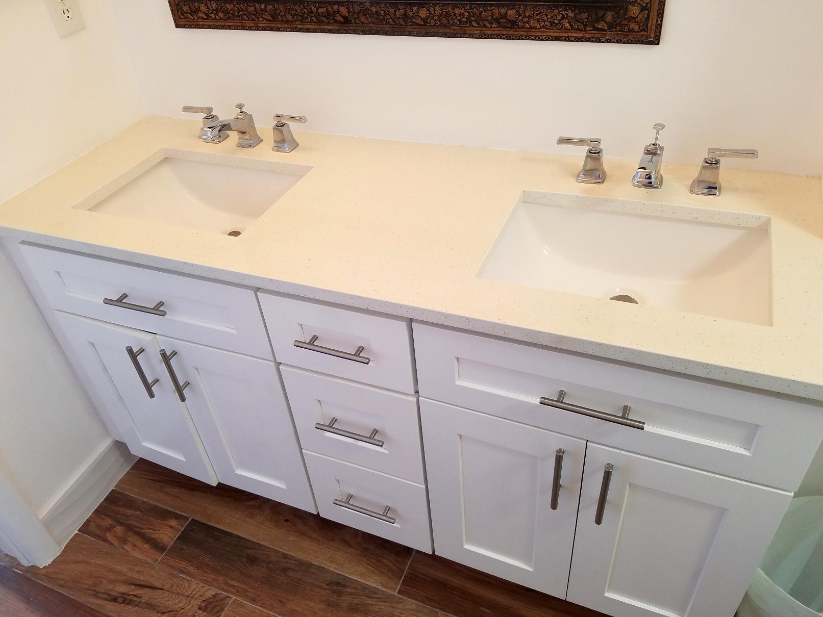 Master Bathroom double vanity