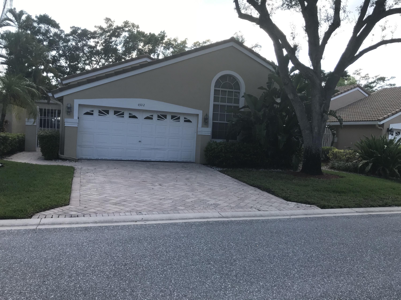 Listing Details for 4502 Carlton Golf Drive, Lake Worth, FL 33449