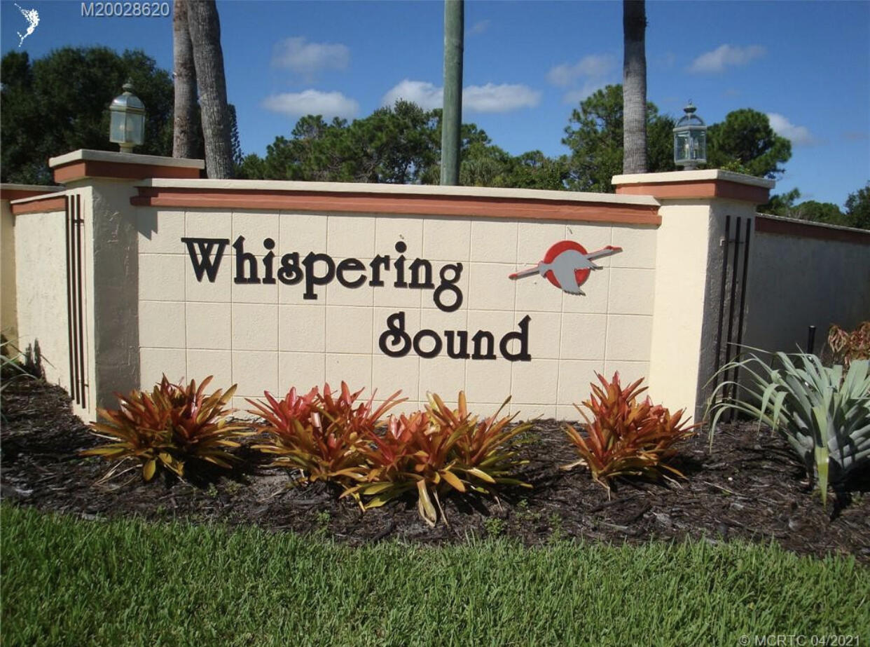 Home for sale in Whispering Sound Palm City Florida