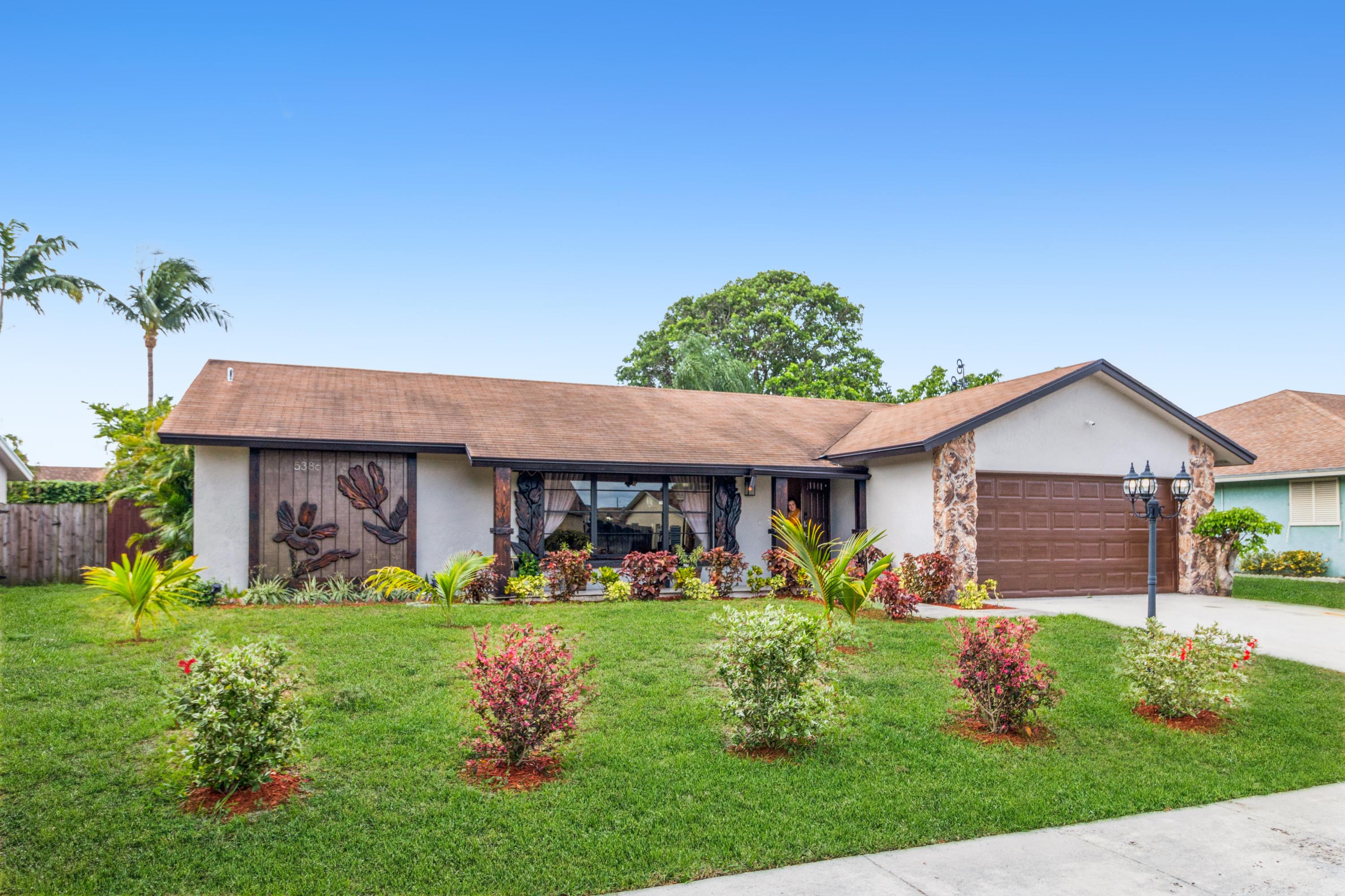Home for sale in SPRINGHILL 2 Lake Worth Florida