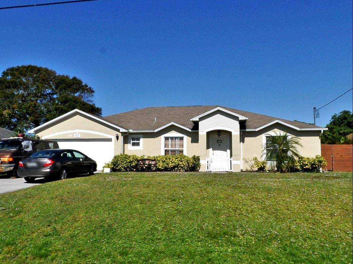 417 SW Millard Drive Port Saint Lucie, FL 34953