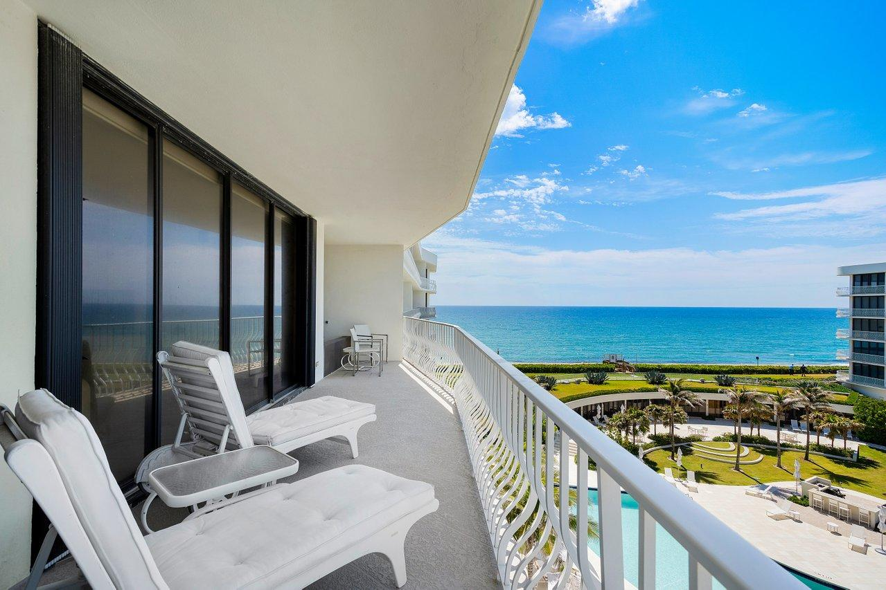 Rare opportunity to purchase and personalize this 3BD/3.5BA unit in Palm Beaches Most Sought after Oceanfront building with coveted southeast/southwest exposure on high floor. This corner unit offers an abundance of space and the most stunning views of the intracoastal, ocean, and pool from every room. This unit comes with a cabana. Amenities include 24/7 Gated Entry & Doormen, Tennis Complex & Pro Shop, Fitness Center, Newly Renovated Pool Area with BBQ,  Stunning Beach Area and 15 Minutes to PBIA & World Class Shopping on Worth Avenue.