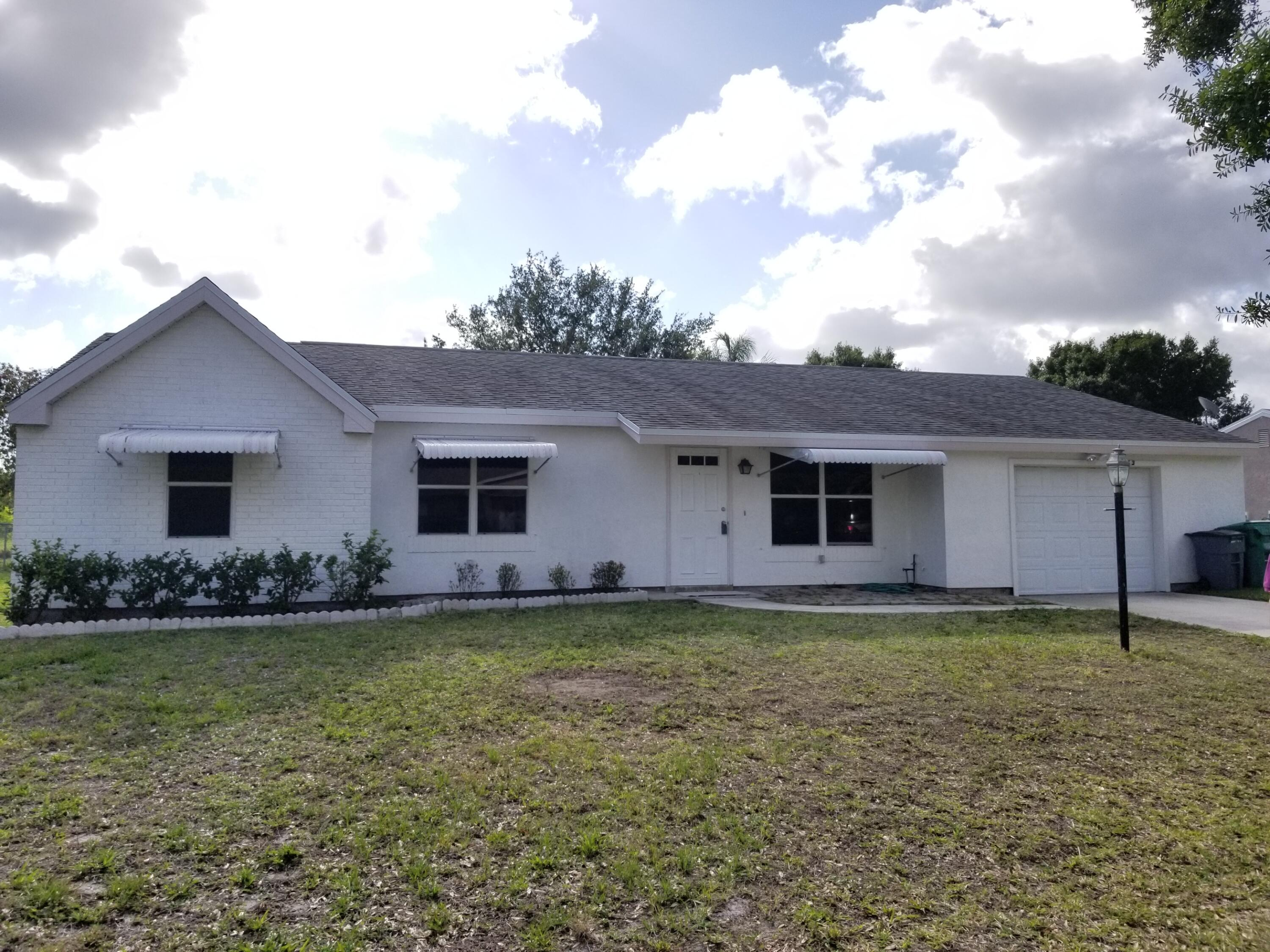Home for sale in PORT ST LUCIE SECTION 42 1ST REPLAT Port Saint Lucie Florida