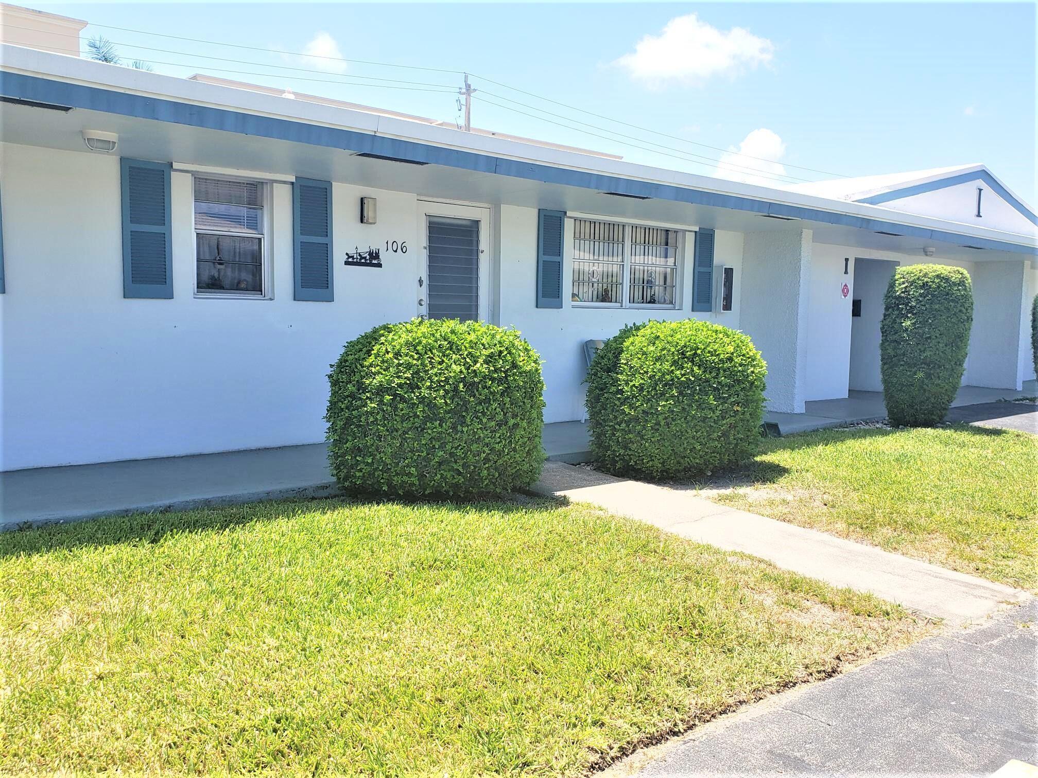 1119 Lake Terrace 106 Boynton Beach, FL 33426
