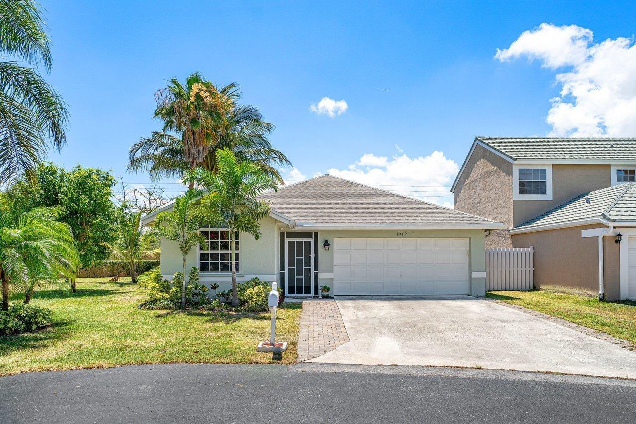 1049 Fairfax Circle Boynton Beach, FL 33436