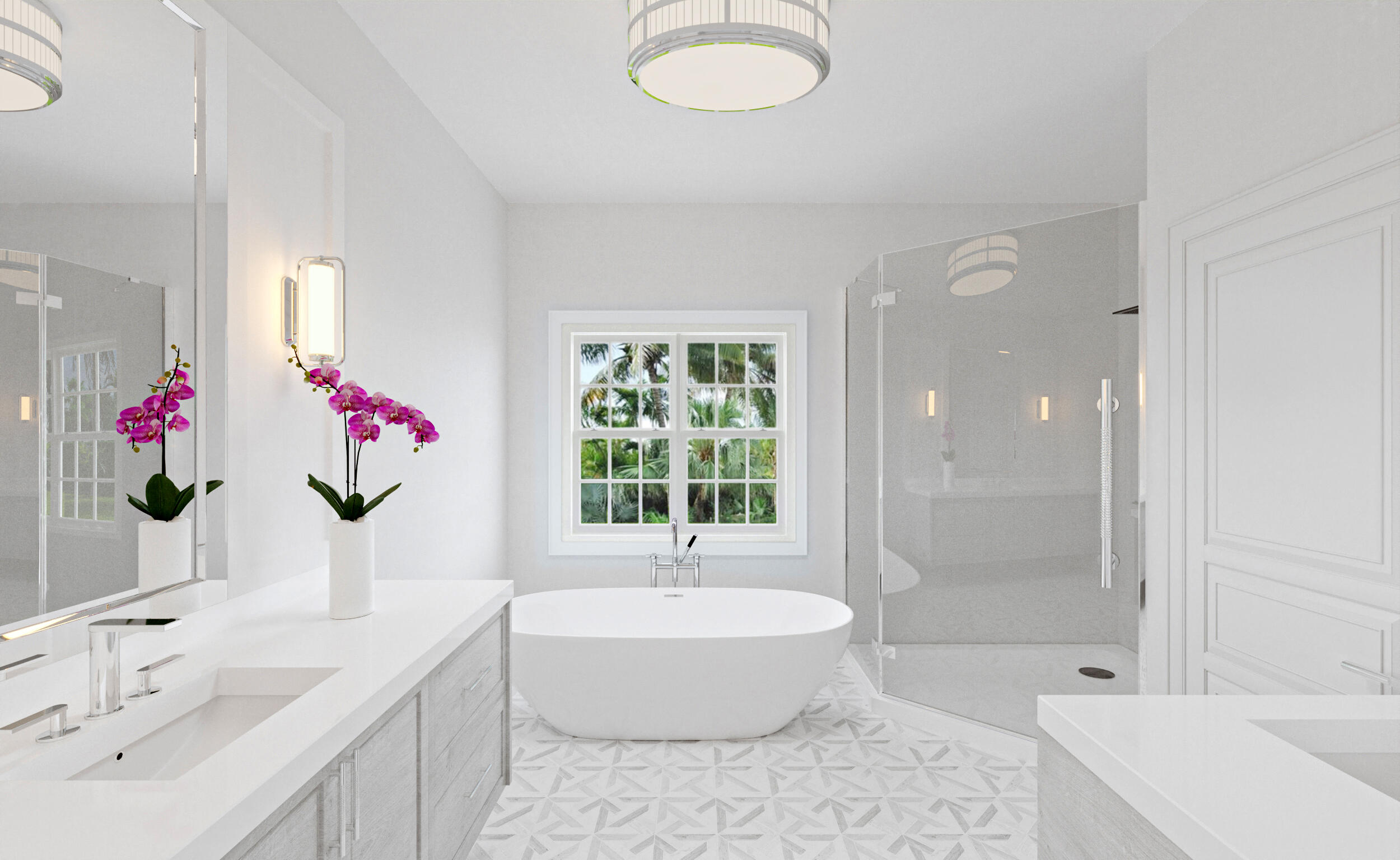 Master Bathroom Rendering