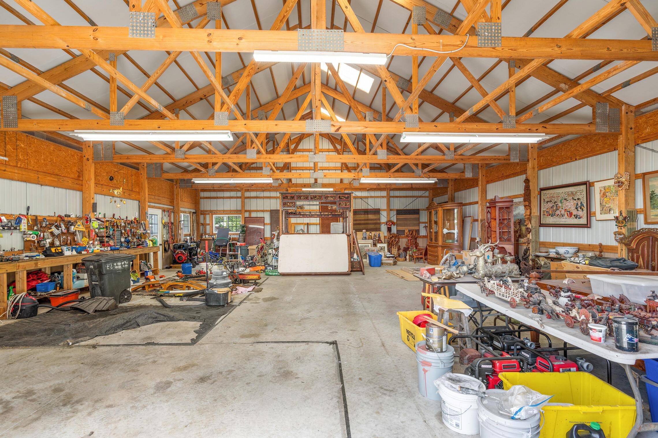Equipment building