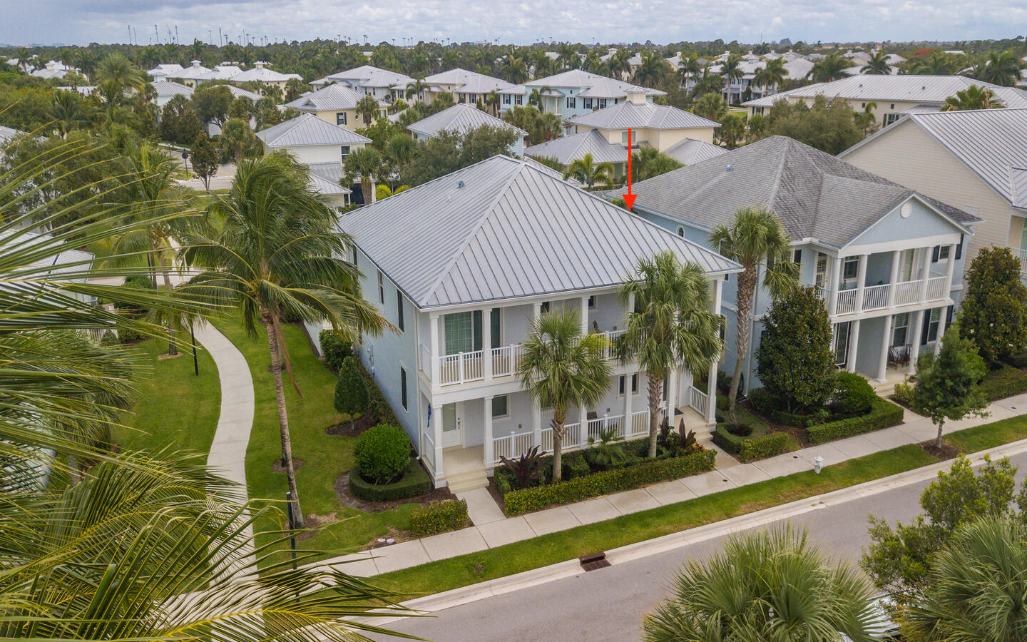 Discover ''Divosta's'' built solid Nautica model townhome in the Mallory Creek neighborhood of Abacoa in Jupiter, FL. Original owner, cared for with pride of ownership and used lightly. Seller took every upgrade offered by Divosta...8 foot interior doors, 42 inch upper cabinets, custom closets,Impact glass windows, lighting, metal roof, granite counters and so much more. Possible turnkey, furniture negotiable. Have Peace of Mind knowing that 1. Divosta quality construction, 2. Privacy...love the neighbors/neighborhood, 3. Simple easy living, 4. Very convenient location!
