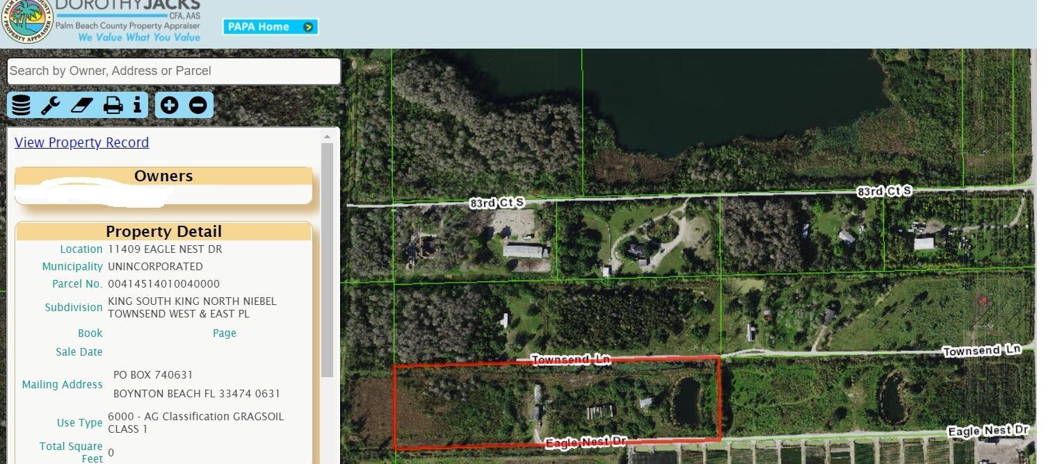 11409 Eagle Nest Drive  Boynton Beach FL 33472