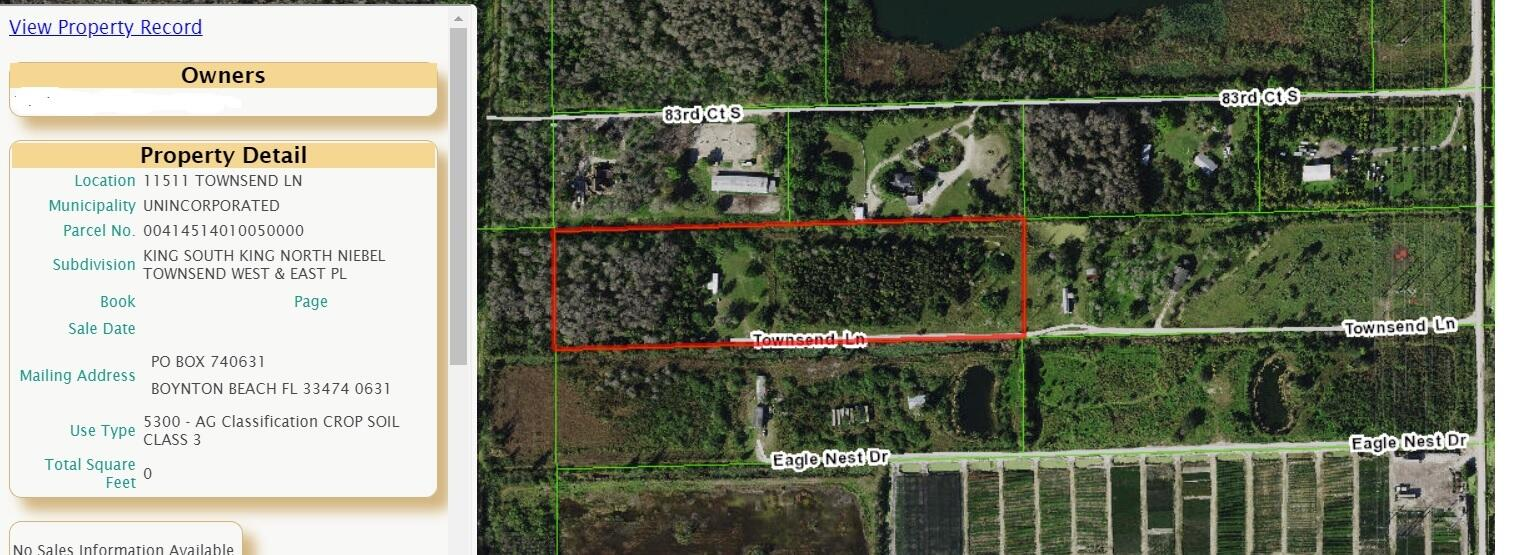 11511 Townsend Lane  Boynton Beach FL 33472