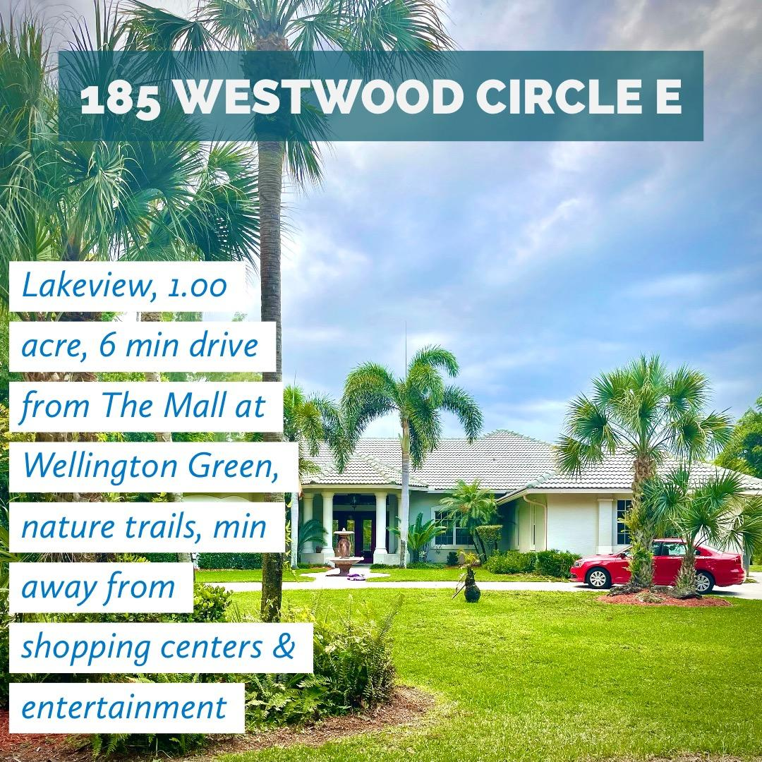 185  Westwood Circle East   For Sale 10722164, FL