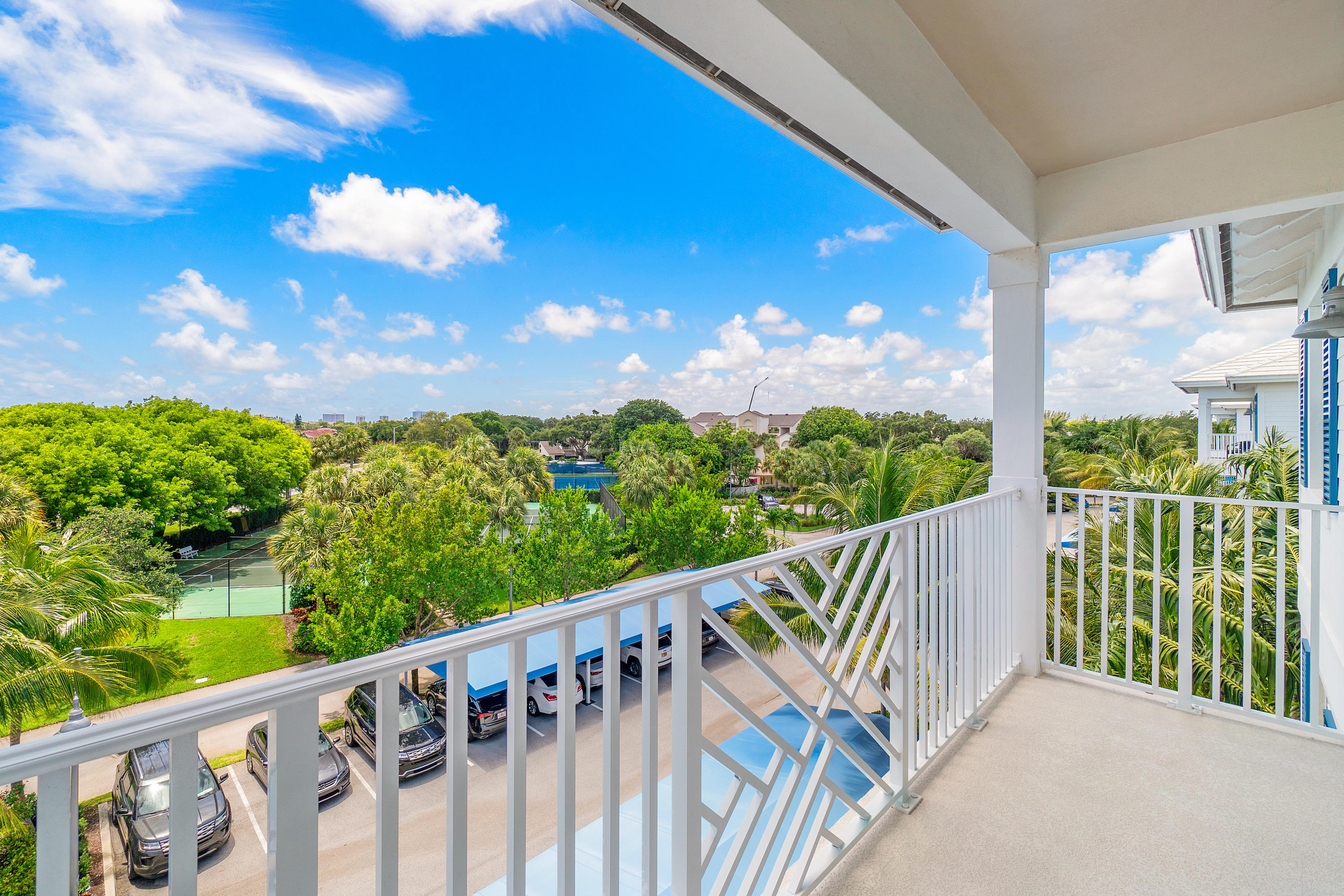 """A RARE FIND! RESORT STYLE CONDO, INCLUDING A 40 FT. BOAT SLIP AND JUST 1 MILE FROM THE BEACH!!! THIS IS BAY COLONY - JUNO BEACH'S MOST SOUGHT AFTER WATERFRONT COMMUNITY ON THE INTRACOASTAL WATERWAY. THIS 3BR/3BA PRESENTS LIKE A SHOW MODEL, WITH 9 FT. CEILINGS AND 2,175 SQFT-TOTAL OF LIGHT, BRIGHT, OPEN & AIRY  LIVING SPACE. WINDOWS & SLIDERS ARE IMPACT GLASS AND DECORATED WITH ELEGANT PLANTATION SHUTTERS WITH PANORAMIC VIEWS FROM 2 PRIVATE BALCONIES ON THE TOP 4TH FLOOR.  FRESH PAINTED WALLS ,WOOD LOOK TILE FLOOR, BOSCH STAINLESS STEEL APPLIANCES, BUILT-IN MICRO & OVEN, GRANITE COUNTERS & VANITY TOPS, OWNER UPGRADES ARE WALK-IN CUSTOM BUILT-IN CLOSETS, CUSTOM MURPHY BED FOR A CONVERTIBLE BEDROOM/DEN/OFFICE/BONUS ROOM. PRIVATE LOCKING STORAGE ROOM ONLY STEPS FROM THE FRONT DOOR. MORE OWNER UPGRADES INCLUDE: #31 PRIVATE BOAT SLIP WITH 12,000 POUND """"HI-TIDE"""" FOUR MOTOR BOAT LIFT (NEW $16,000), COMMON CHARGE PER MONTH FOR BOAT SLIP IS $90 (INCLUDES WATER, ELECTRIC & DOCK BOX). NEW RHEEM ELECTRIC WATER HEATER (3/2021), NEW AIR CONDITIONING SYSTEM UV BLUE LIGHT AND DUCT CLEAN & SEAL PROTECTIVE COATING (10/2020). OWNER MAY CONSIDER SELLING FURNISHINGS (*EXCLUDING MASTER BEDROOM SET) AT AN AGREED PRICE, SHOULD A TURNKEY SALE BE DESIRED."""