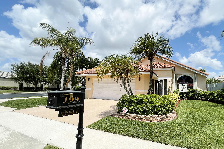 Home for sale in Citrus Glen Boynton Beach Florida