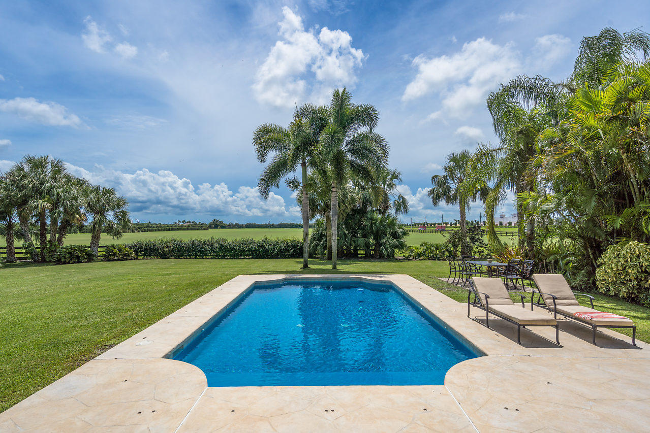 Pool and Polo field views