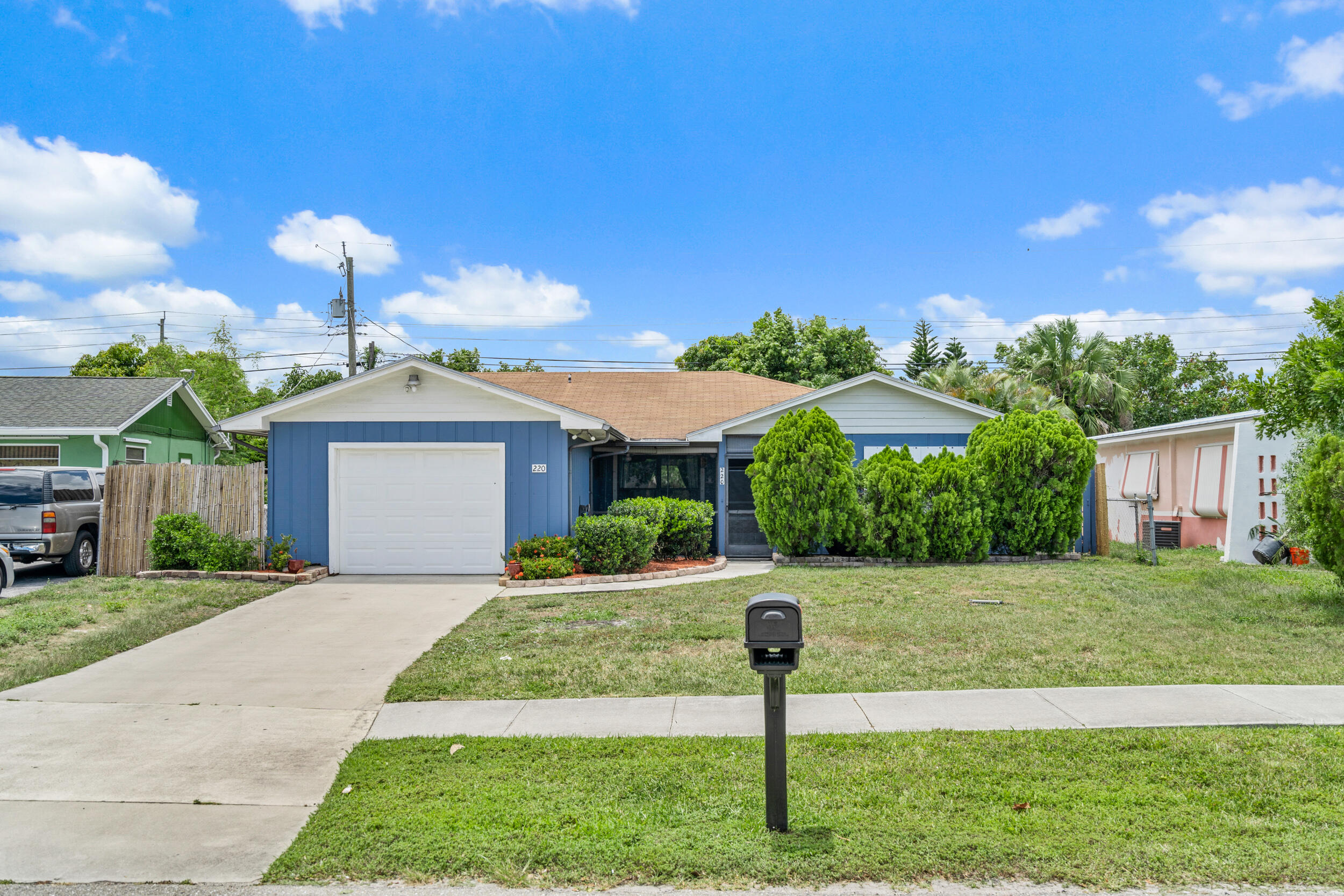 Your opportunity to live in Jupiter has arrived! This 3 bedroom 2 bathroom single family house is located in a desirable and rare no HOA community. It is on one of the quiet streets, not on the main road. It features a full 1-car garage, updated lighting throughout the house, updated kitchen cabinets and a large utility room that can be used to expand the kitchen or as an extra bedroom or home office. This house sits on a nice size lot that provides lots of privacy and enough space for family gatherings, a playground for the kids, or a fenced area for your furry friends. This house is also centrally located in Jupiter. Your next home will be less than 3-4 miles away from the amazing Jupiter Beaches, Harbourside, Jupiter Lighthouse, Cinquez Dog Park, Carlin Park, Abacoa, Roger Dean Stadium, I95, Florida Turnpike, and the many supermarkets, shopping centers, and restaurants in Jupiter. As if this was not enough, you will live in one of the best school zones in all of Palm Beach County. BONUS!: The house is wired up to a 100 Lb generator that powers the whole house. Come check it out before it's gone!