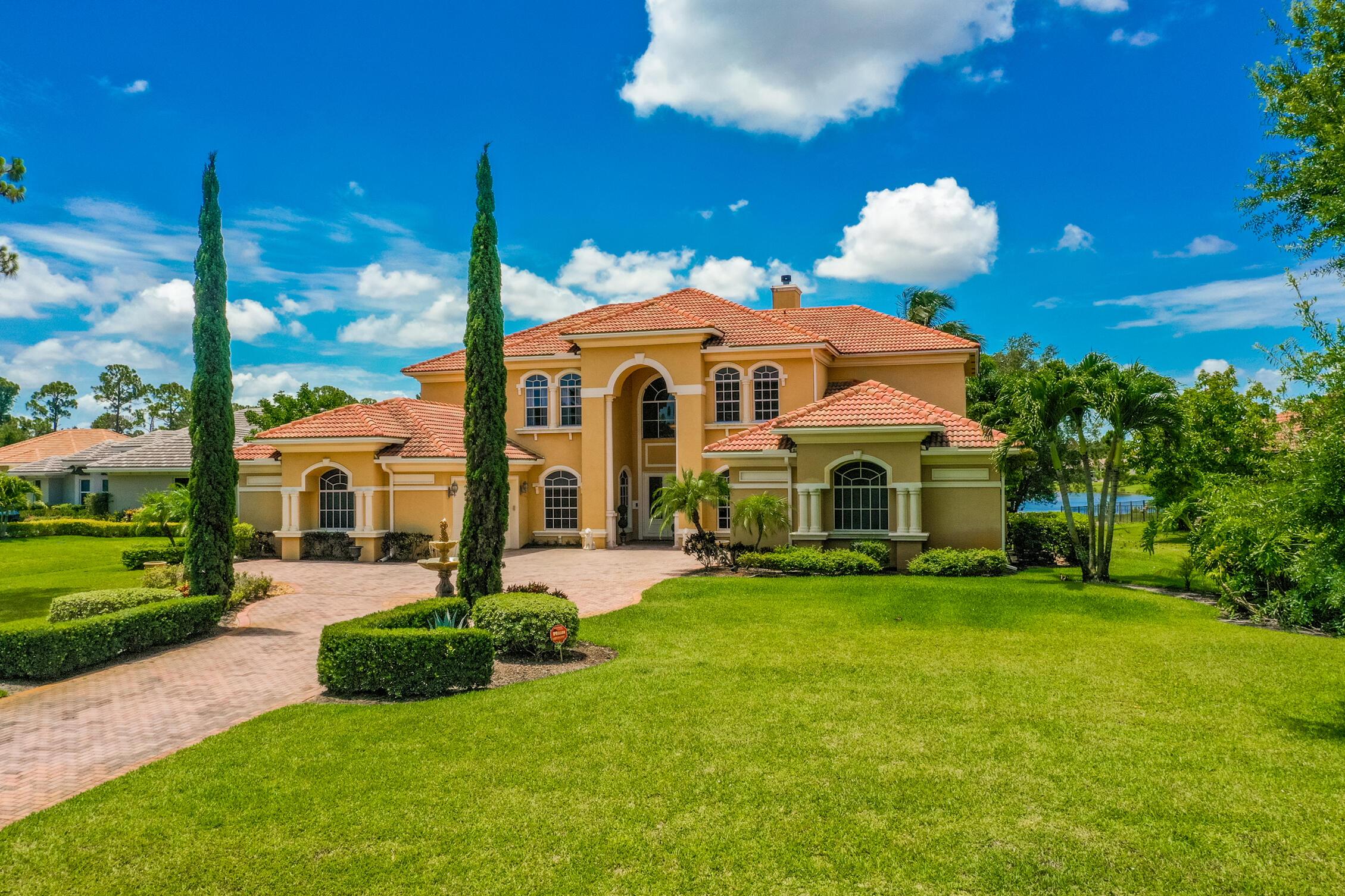 Home for sale in Cobblestone Palm City Florida