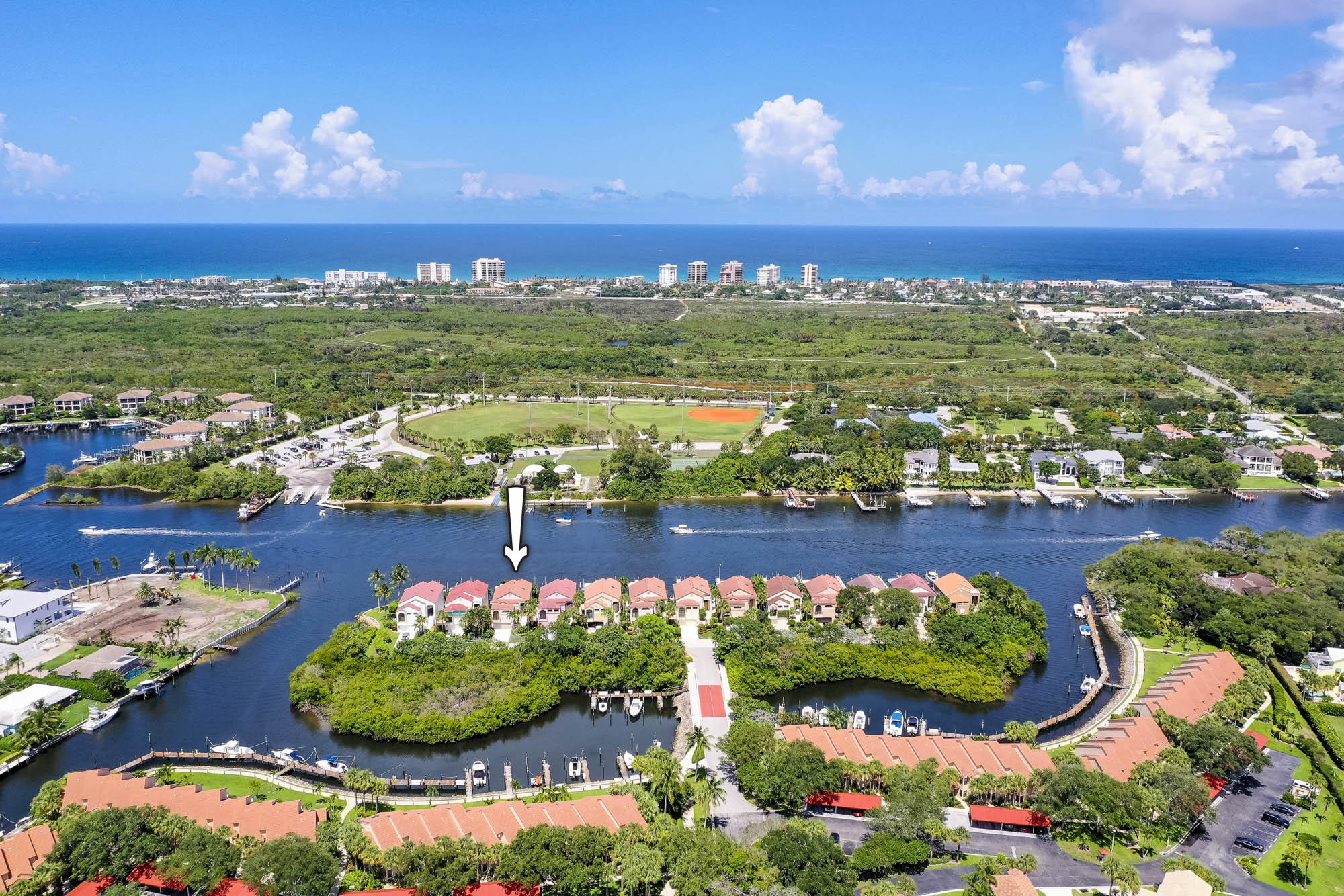 Home for sale in Mariners Cove Palm Beach Gardens Florida
